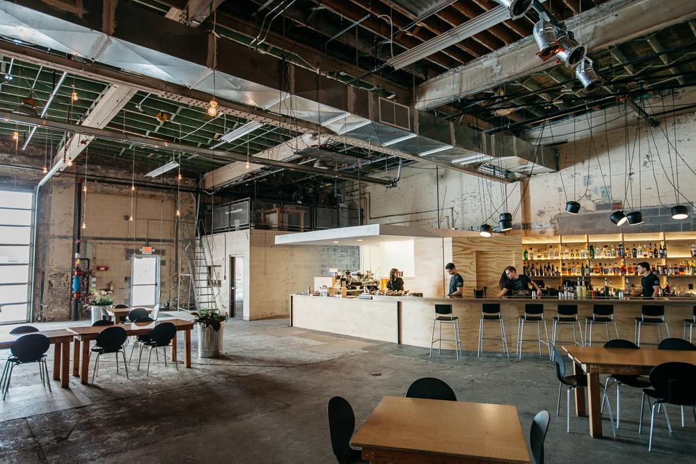 cafe 78 interior