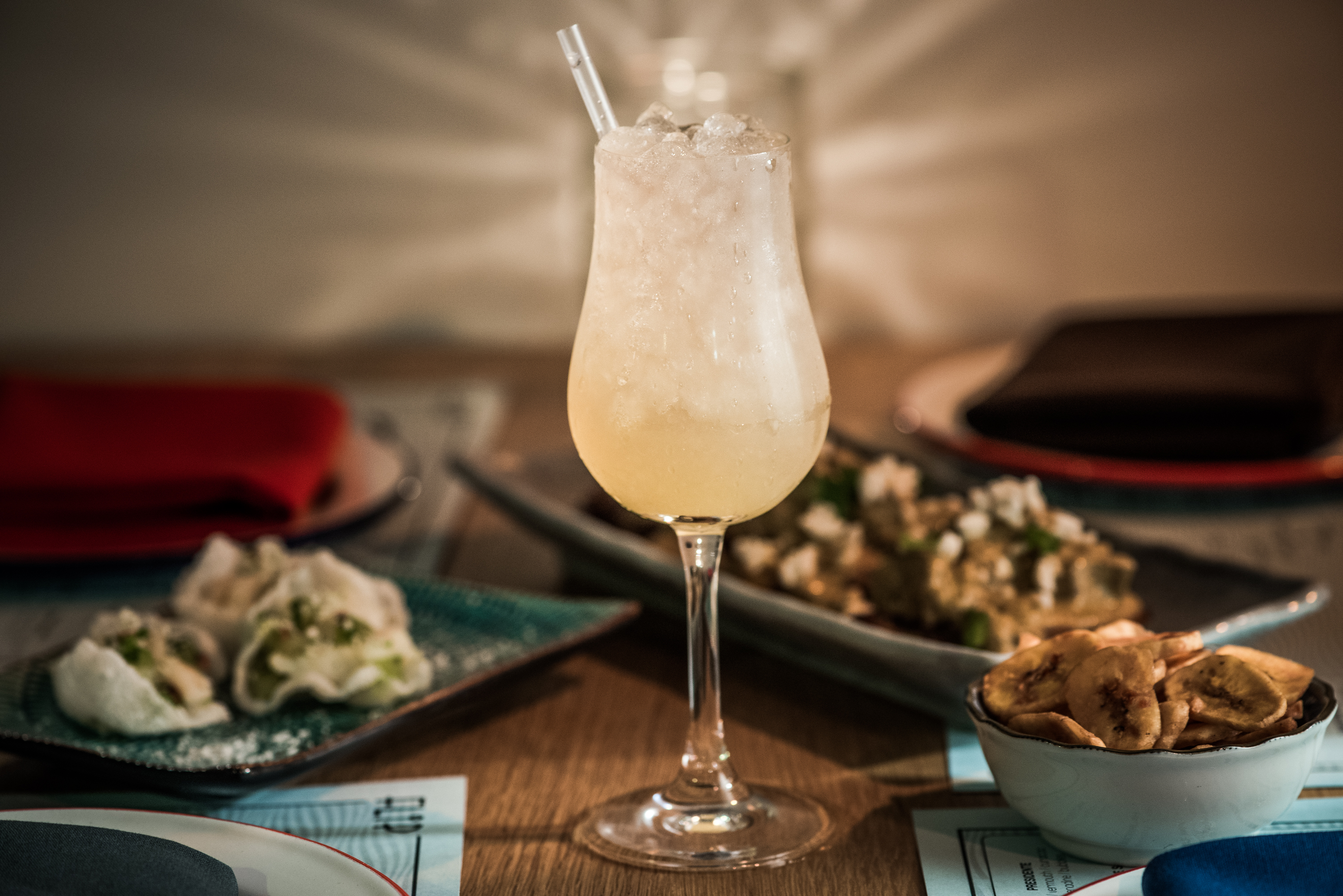A food and cocktail pairing at Over Proof