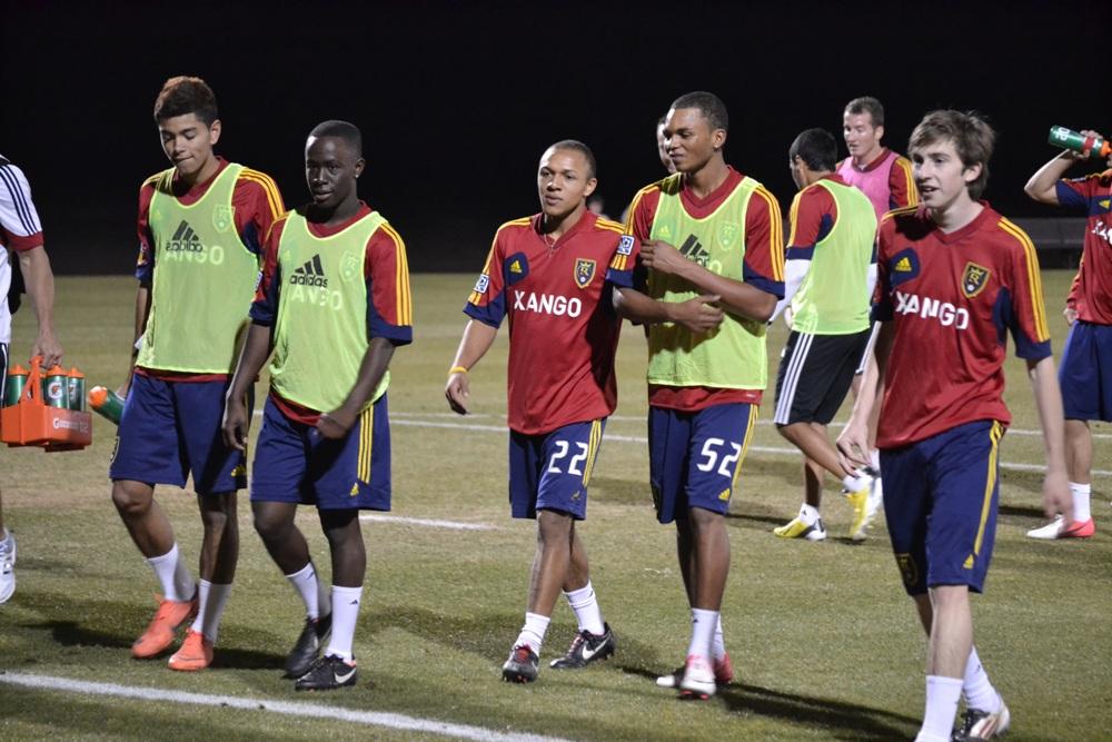 RSL-AZ Academy standouts join senior squad in preseason training