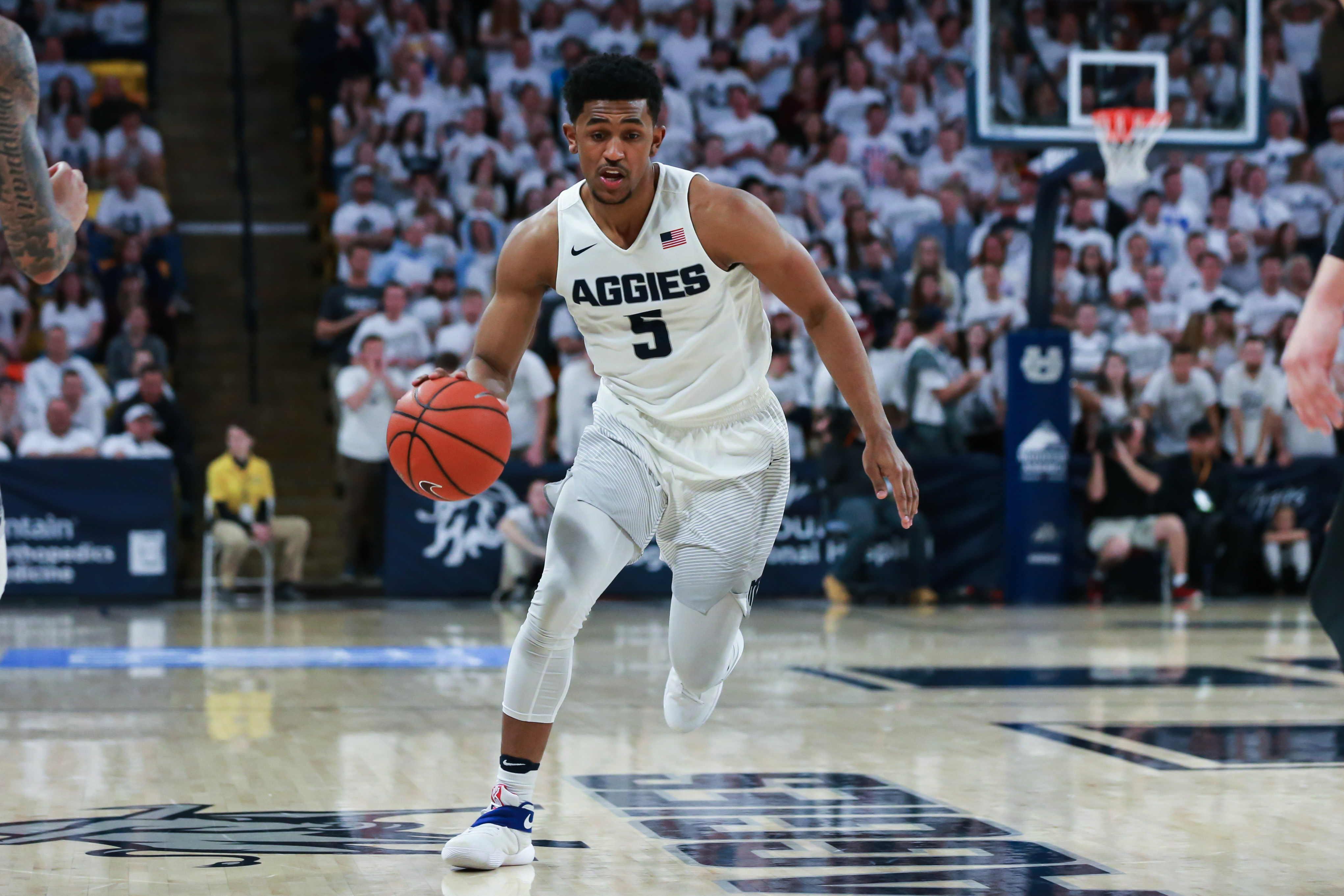 utah state basketball - mountain west connection