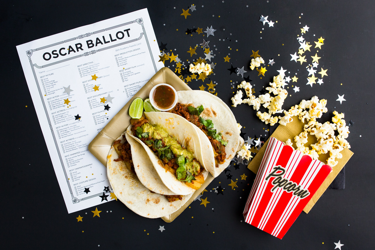 Oscar snacks at Alamo Drafthouse