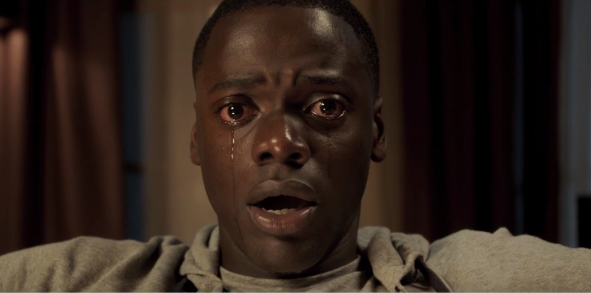 Get Out is a horror film about benevolent racism  It's spine