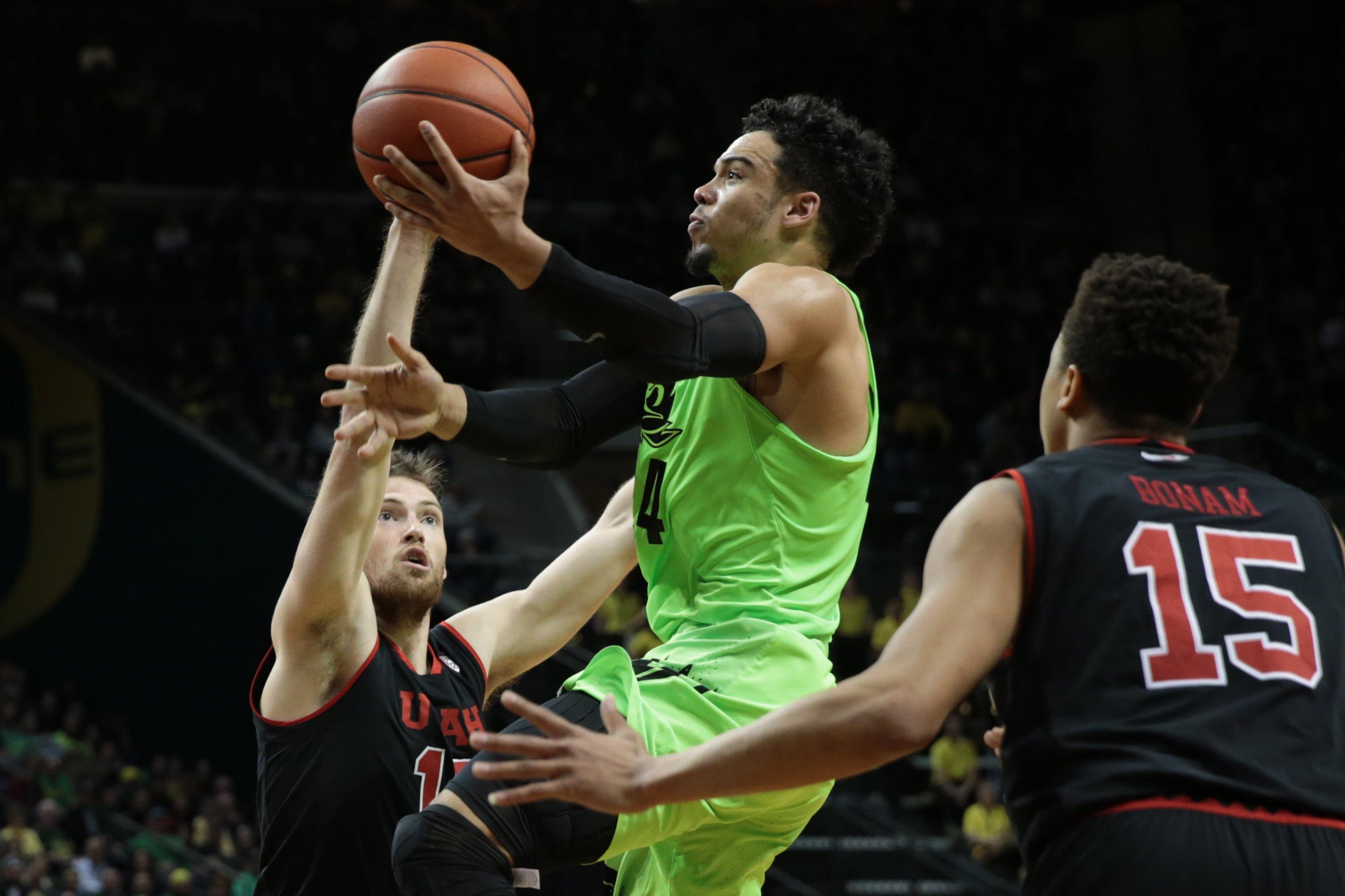 NCAA Basketball: Utah at Oregon