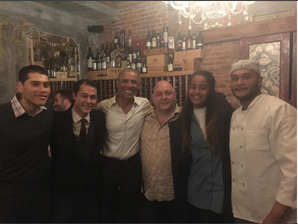 Obama at Emilio's Ballato