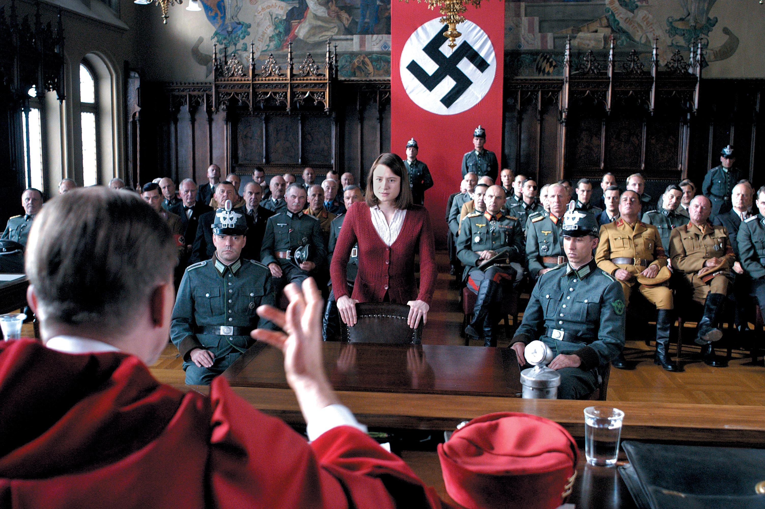 Julia Jentsch in Sophie Scholl: The Final Days