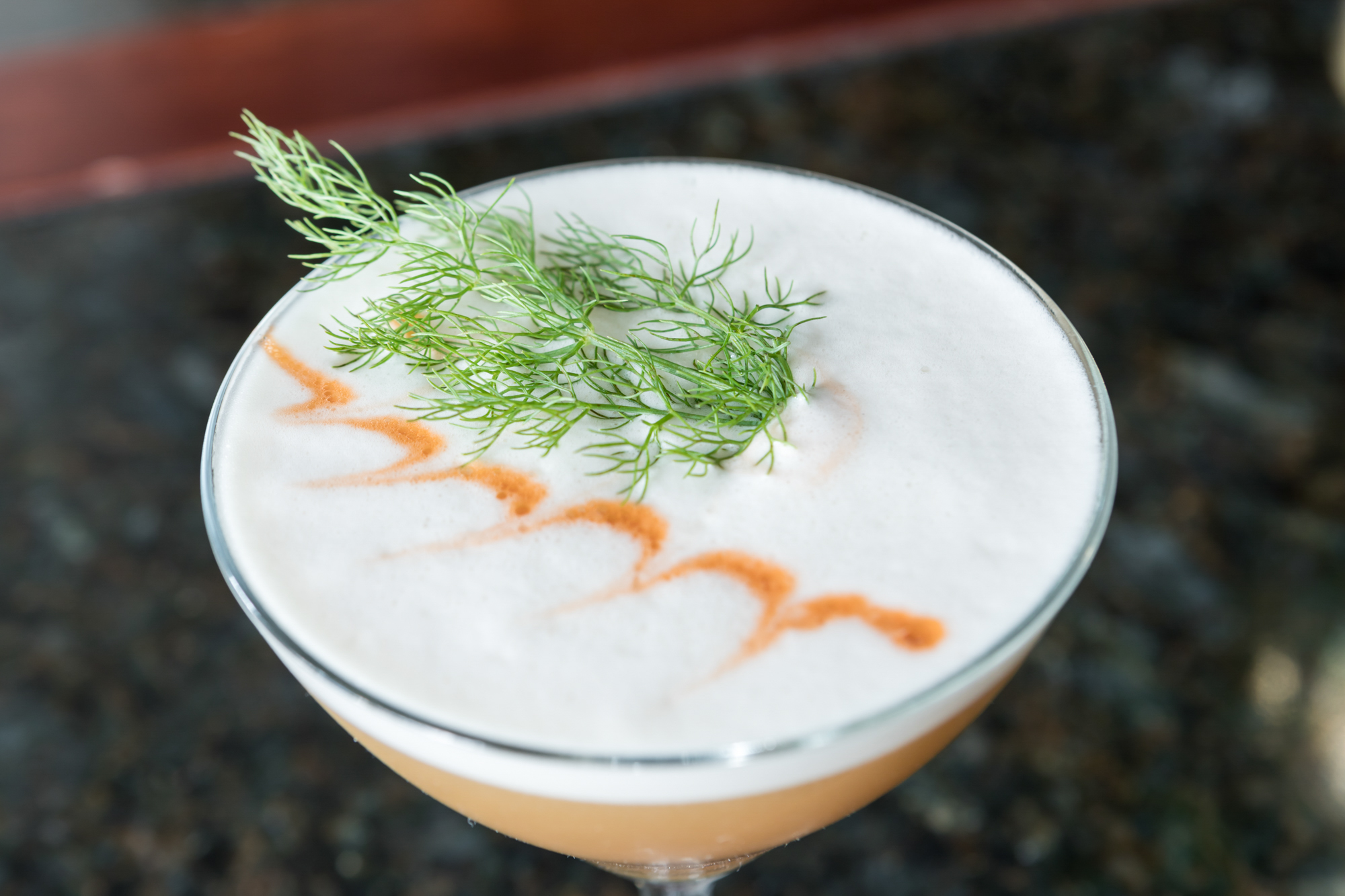 A cocktail at The Douglas Room