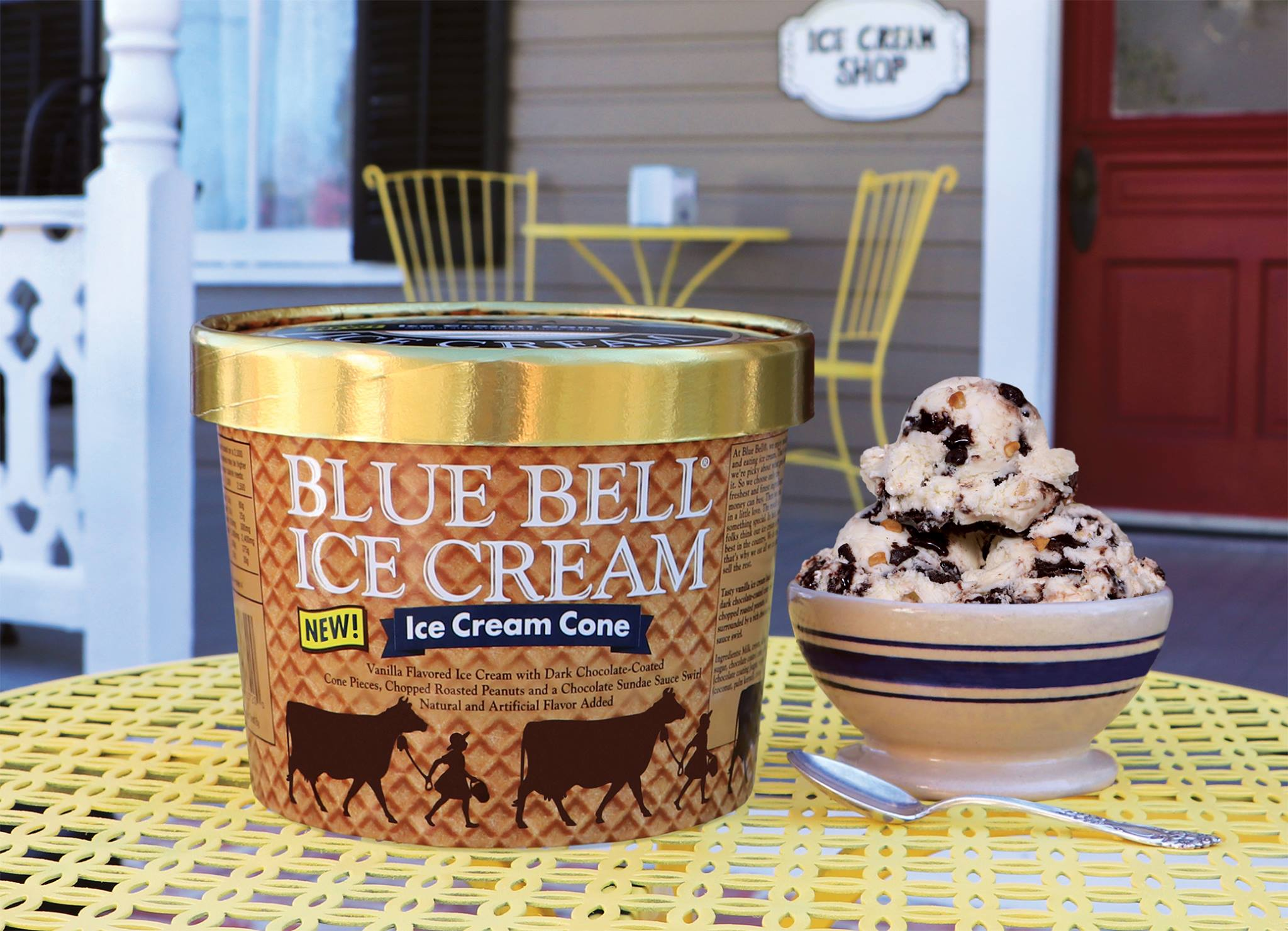 Blue Bell Ice Cream's new flavor