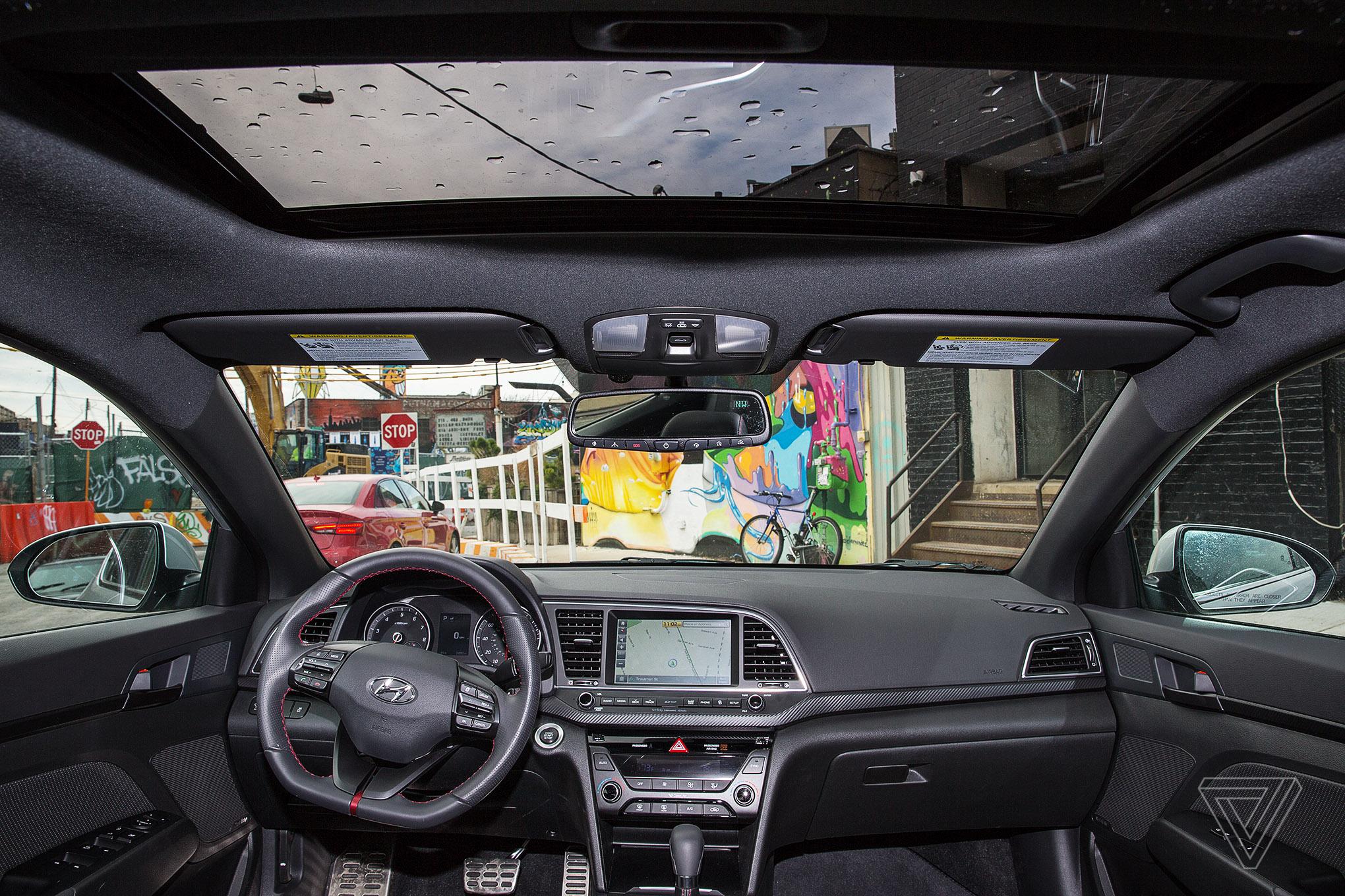 The 2017 Hyundai Elantra Sport When Physical Buttons Make More