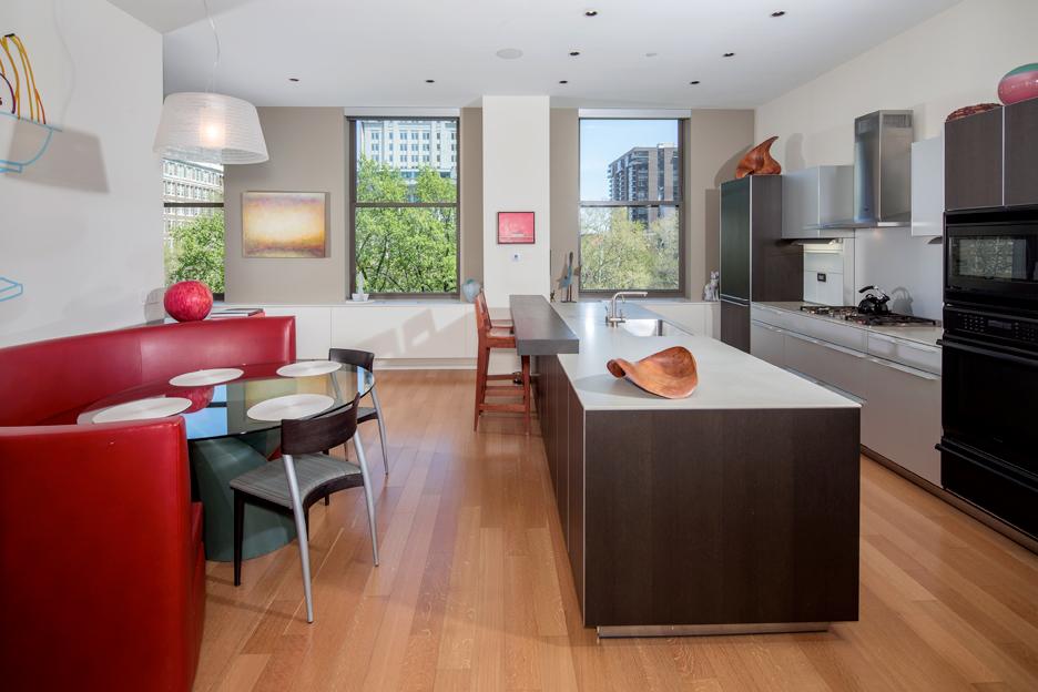 A bulthaup-designed kitchen