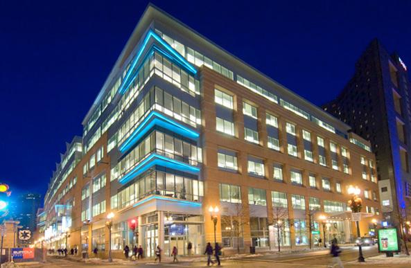 Lafayette City Center building