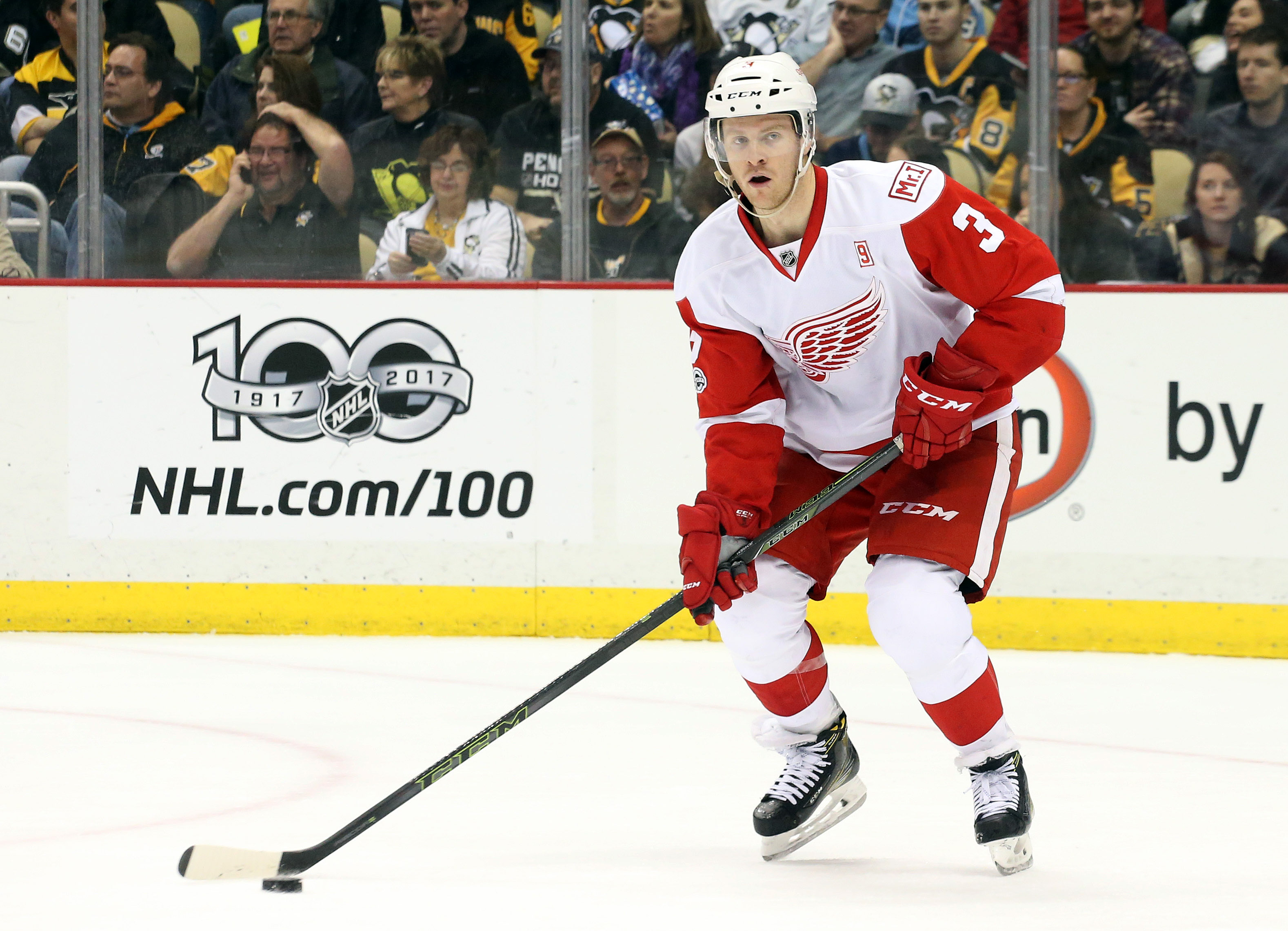 NHL: Detroit Red Wings at Pittsburgh Penguins