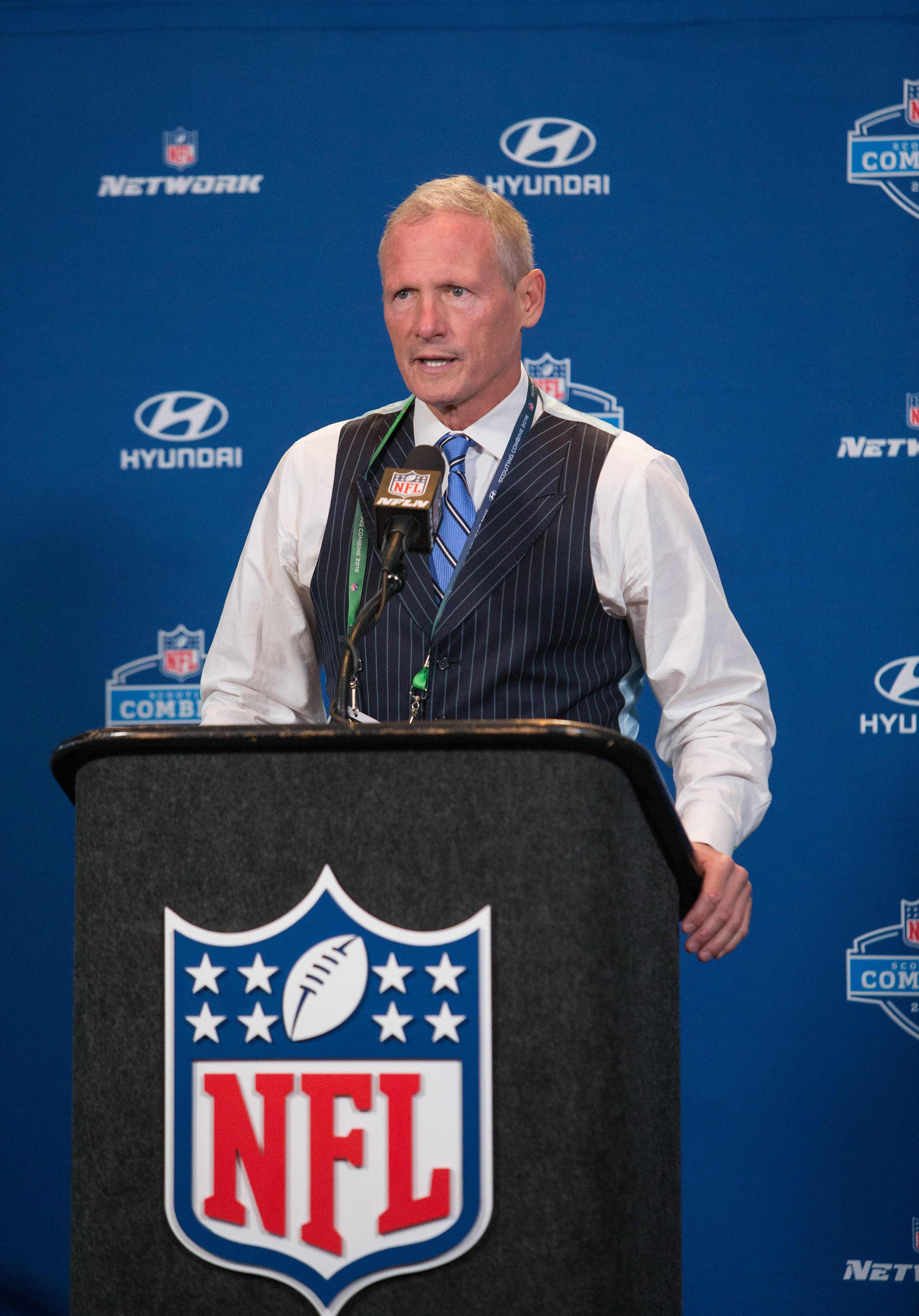 NFL Network Draft Analyst Mike Mayock