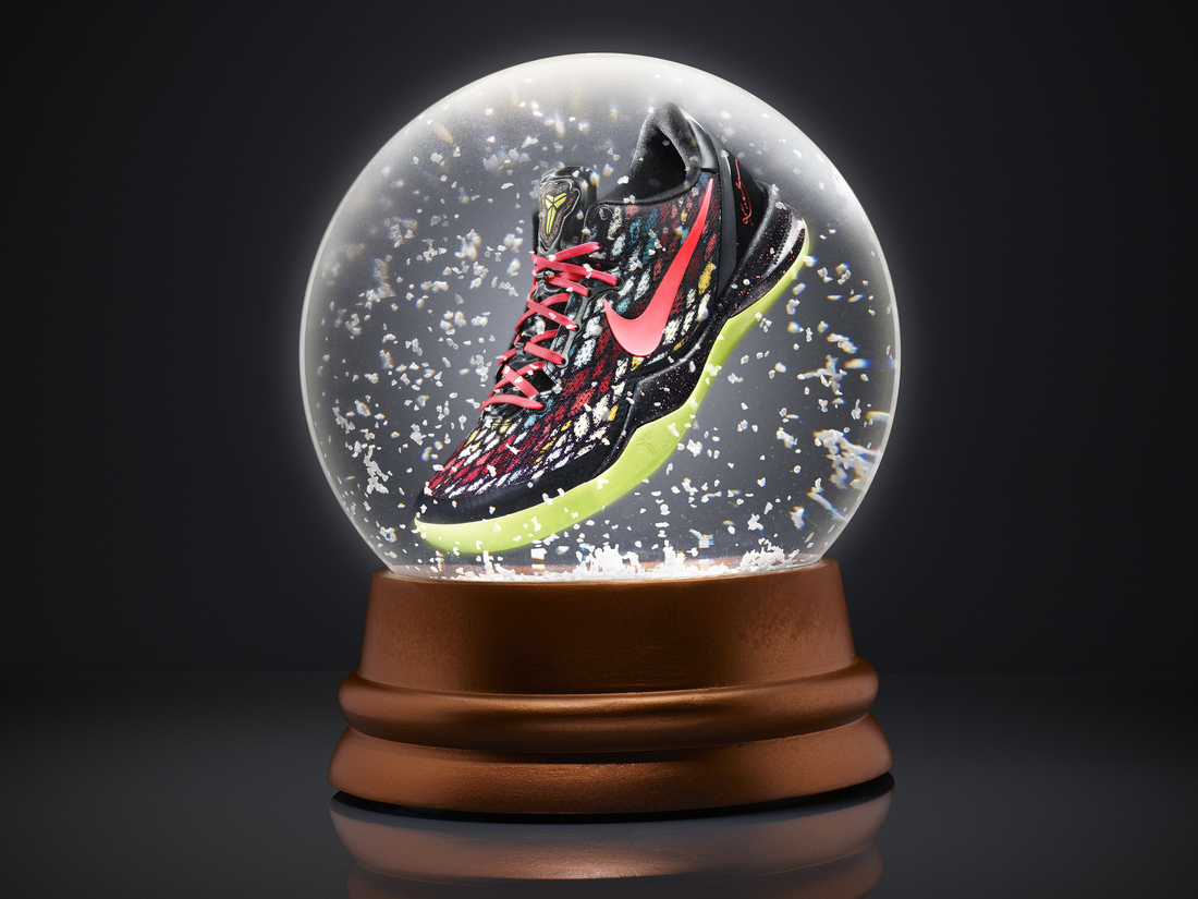 Kobe Bryant's Nike Kobe 8 System shoe debuting on Christmas Day.