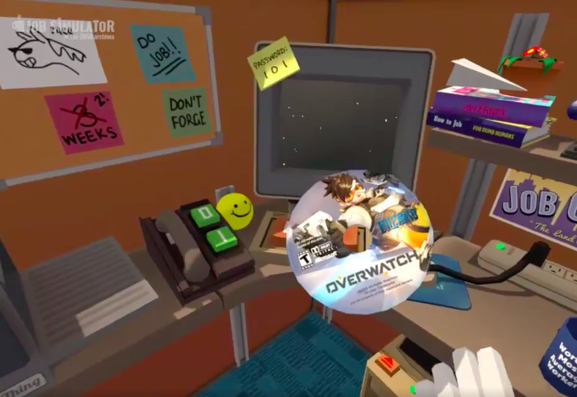 Job Simulator devs hack Overwatch into their own game, and it's hilarious