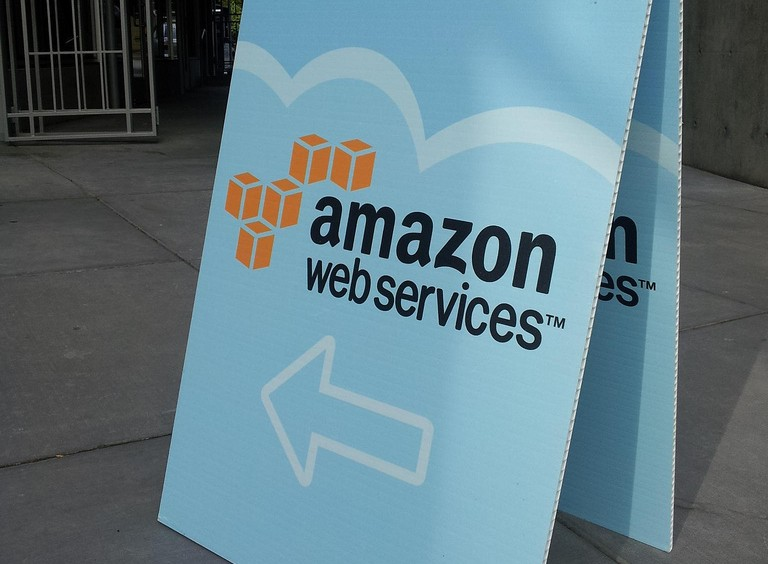 Amazon Web Services sign (Will Merydith/Flickr)