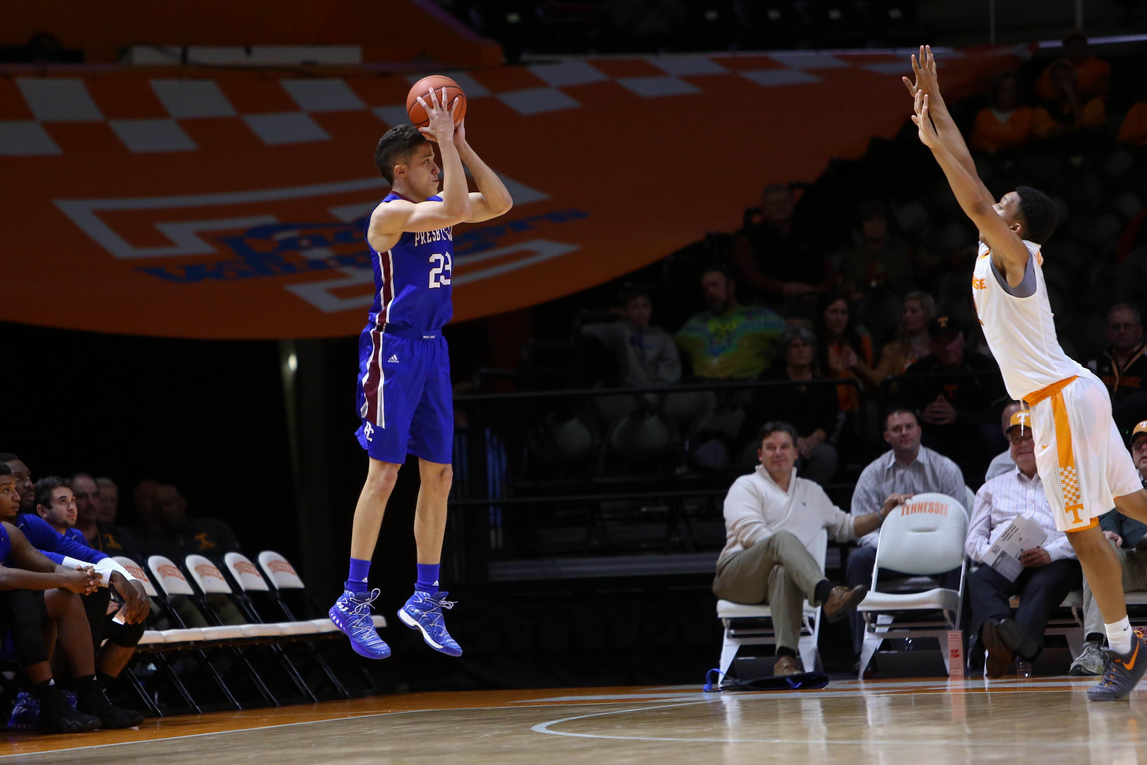 NCAA Basketball: Presbyterian at Tennessee
