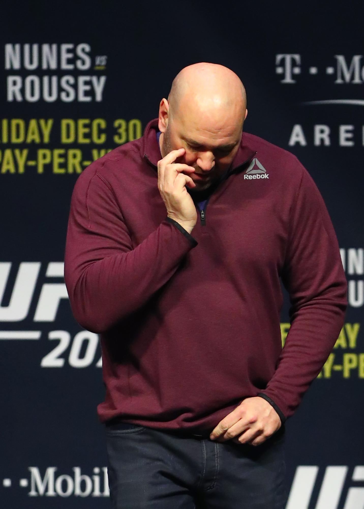 MMA: UFC 207-Weigh In