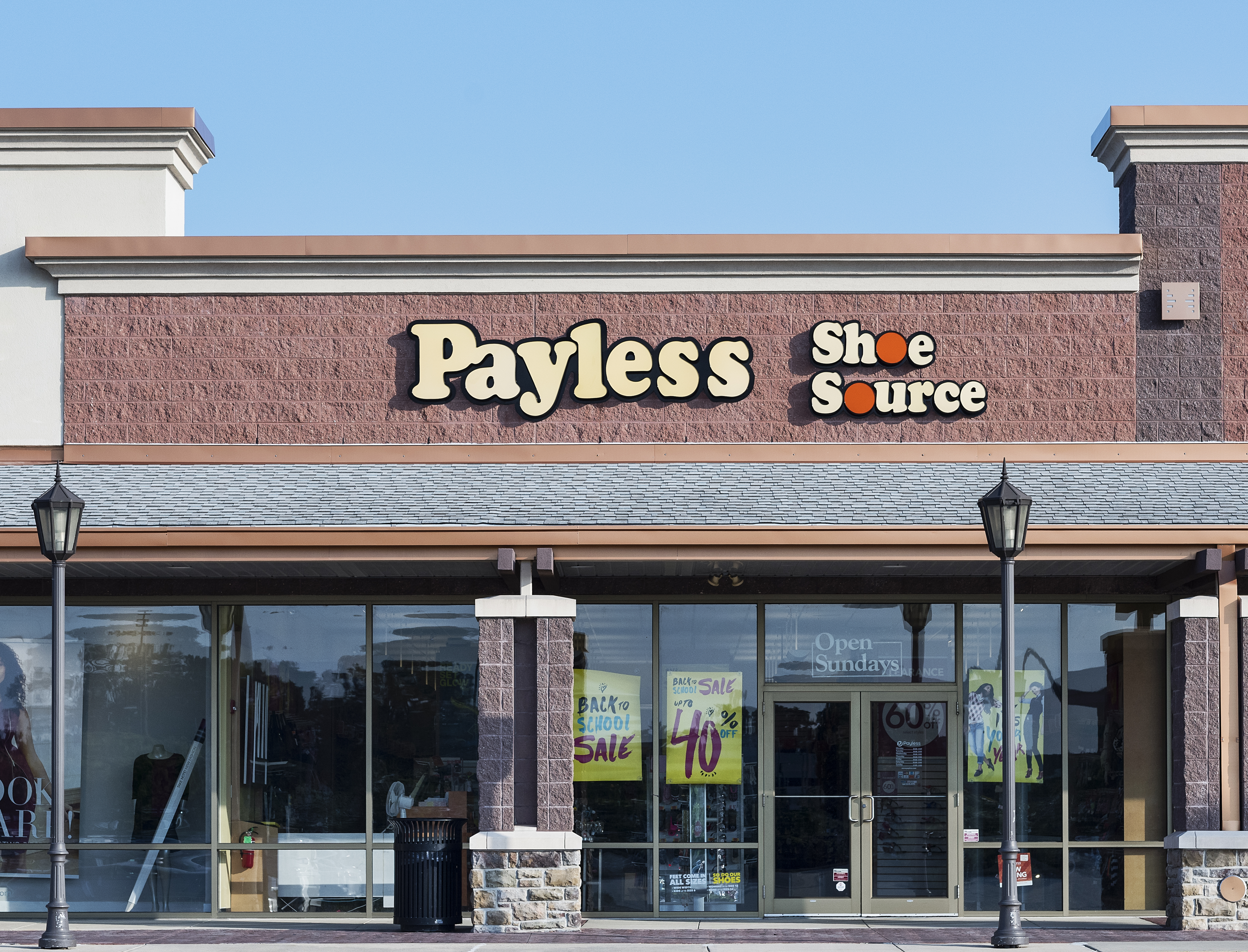A Payless storefront