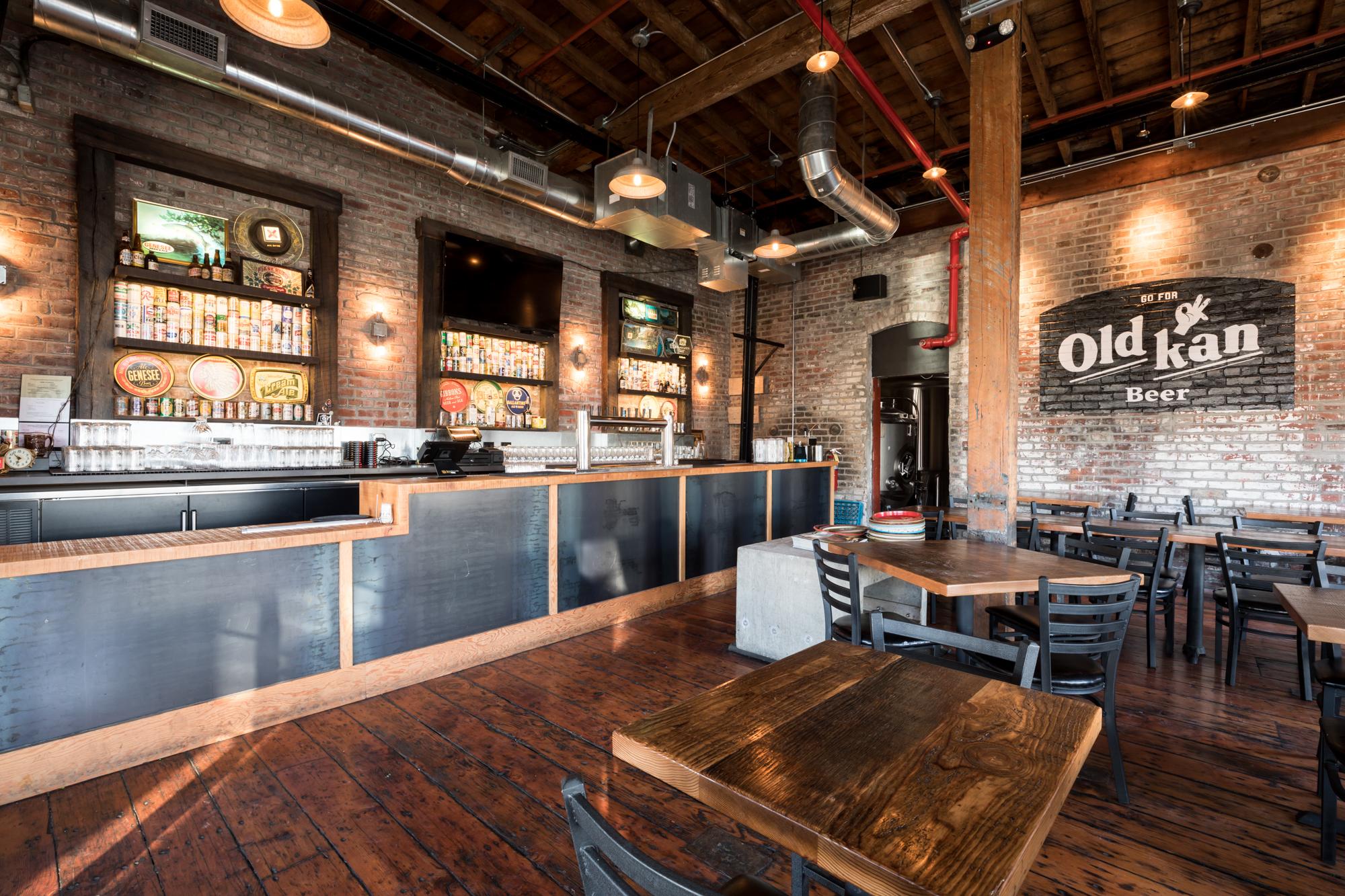 Inside Old Kan Beer Co.