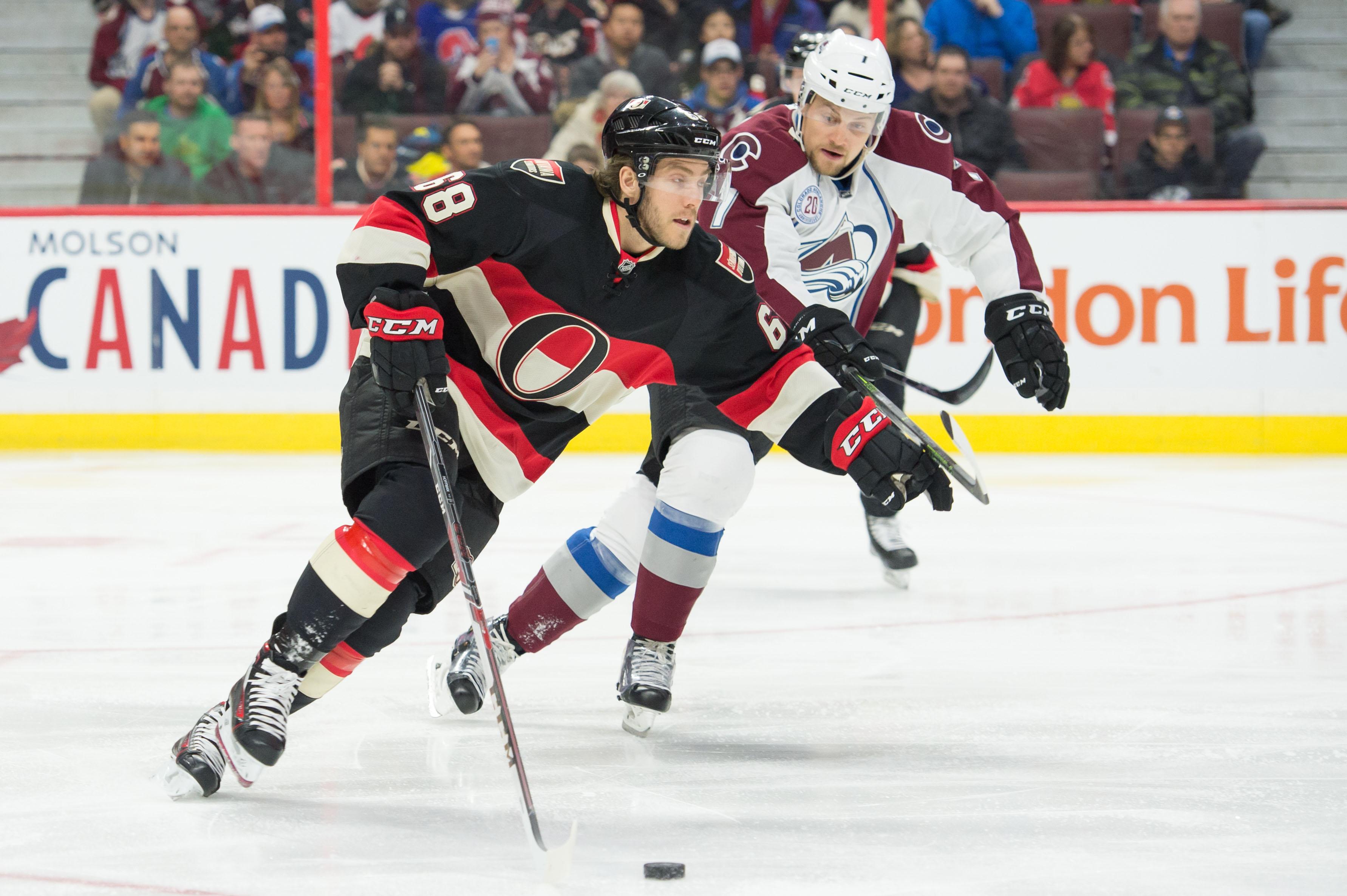 NHL: Colorado Avalanche at Ottawa Senators