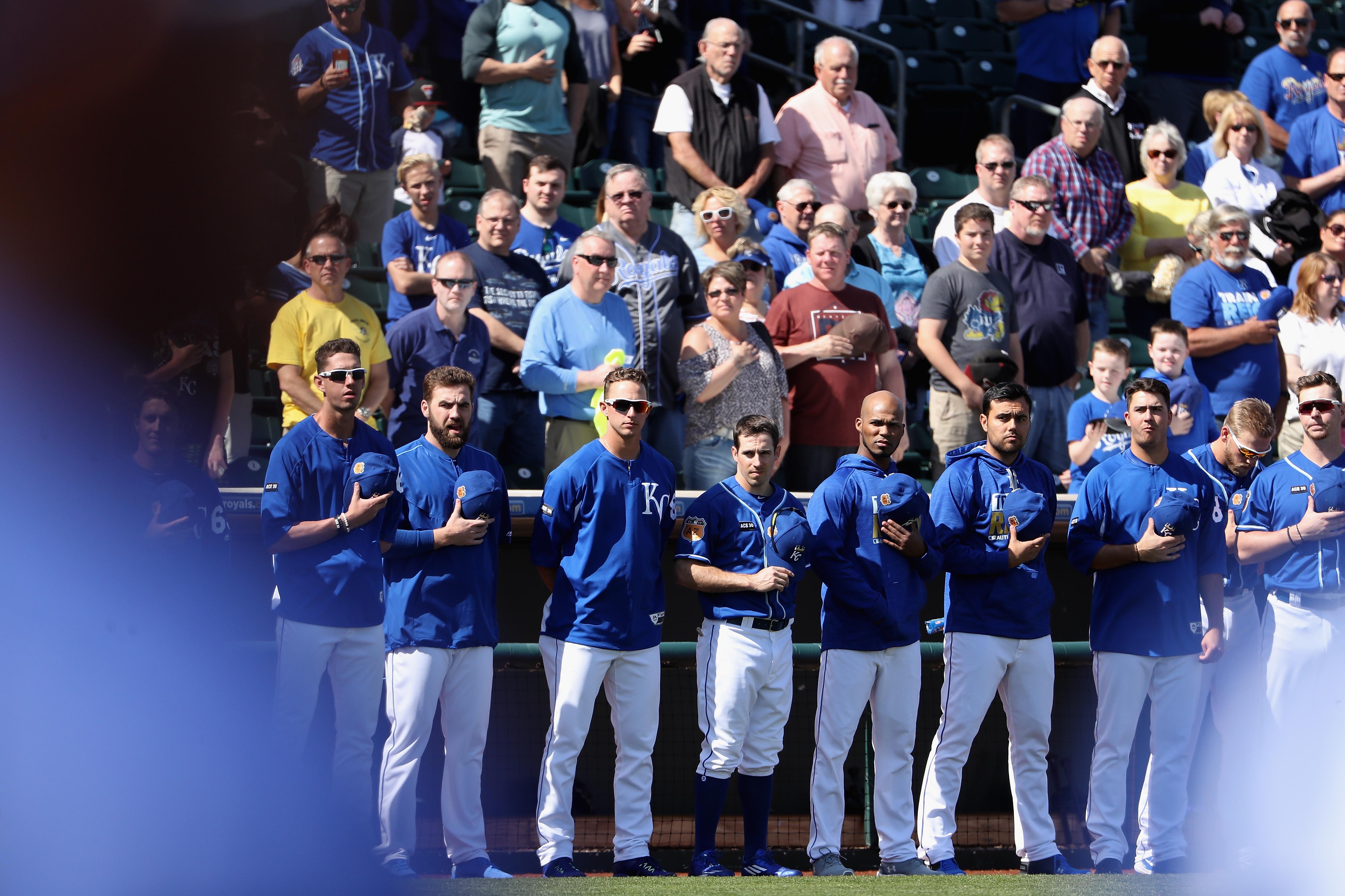Texas Rangers v Kansas City Royals