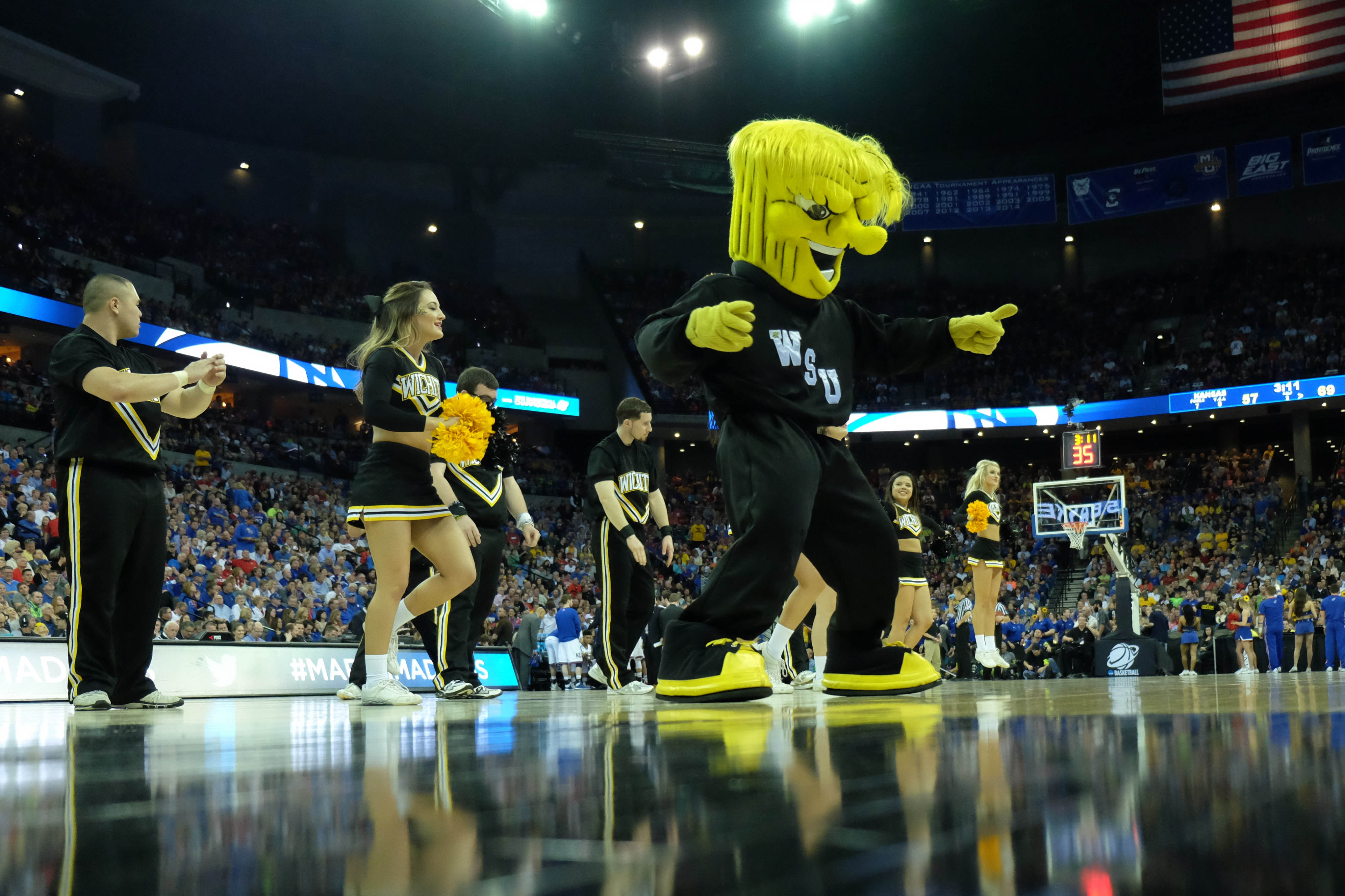 NCAA Basketball: NCAA Tournament-3rd Round-Wichita State vs Kansas
