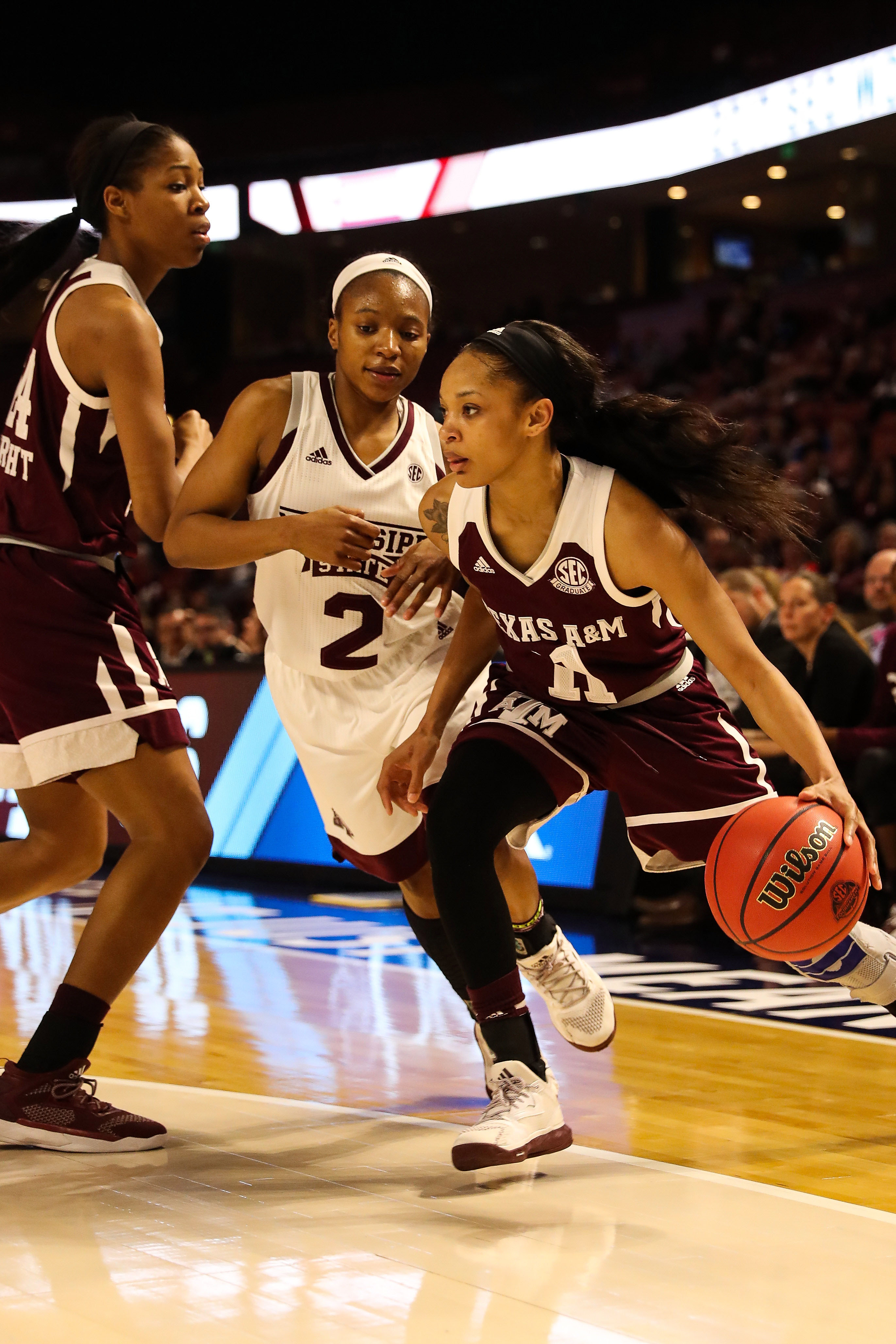 NCAA Womens Basketball: SEC Conference Tournament-Mississippi State vs Texas A&M