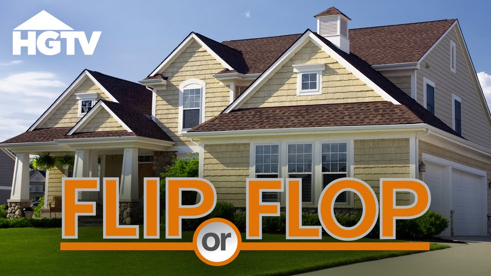 A home with the 'Flip or Flop' logo.