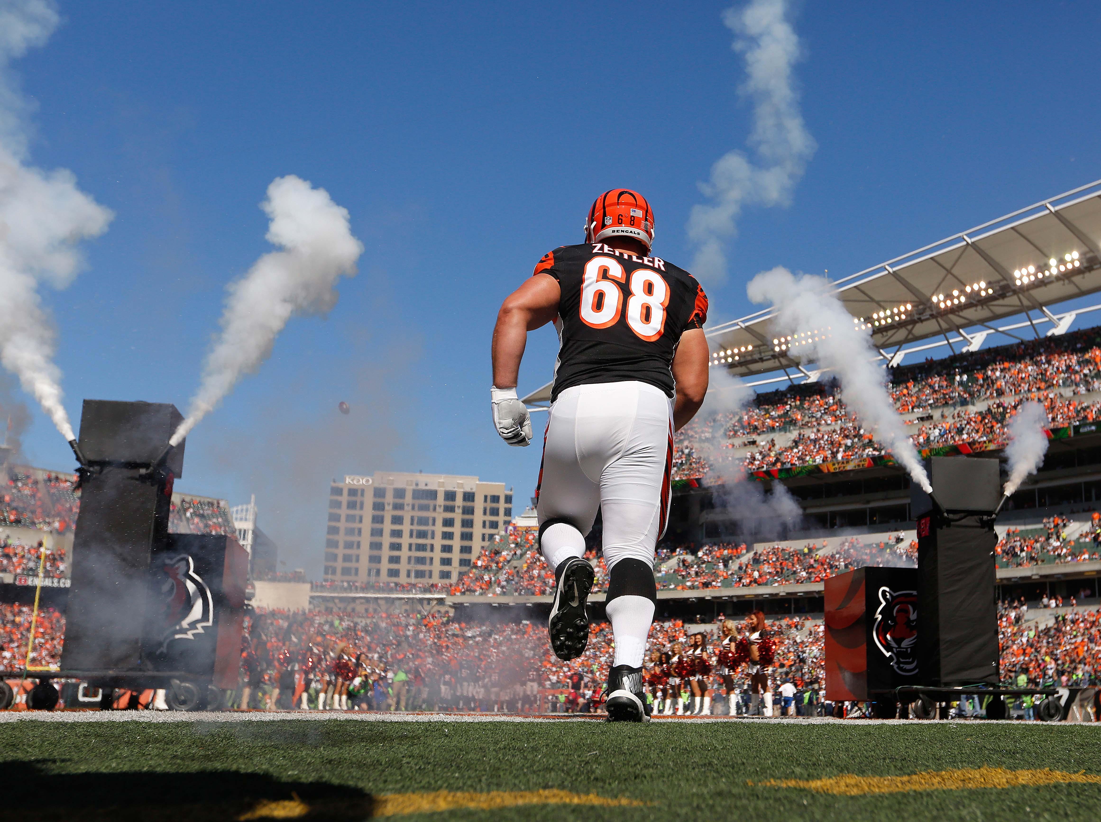 NFL: Seattle Seahawks at Cincinnati Bengals