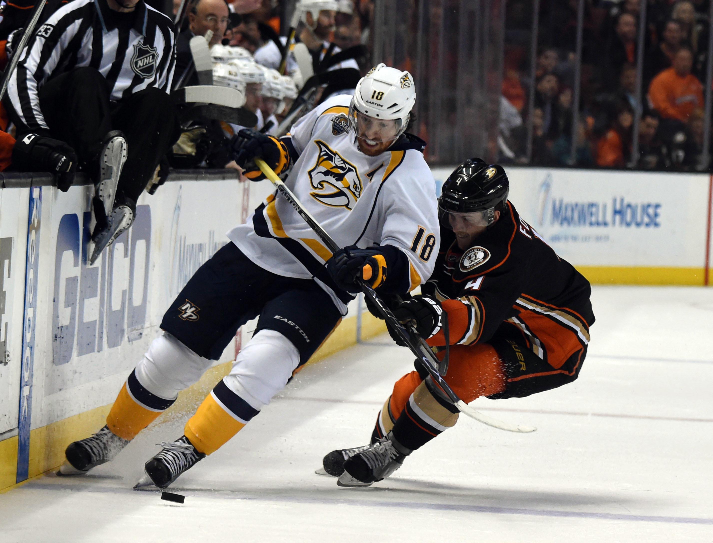 NHL: Stanley Cup Playoffs-Nashville Predators at Anaheim Ducks