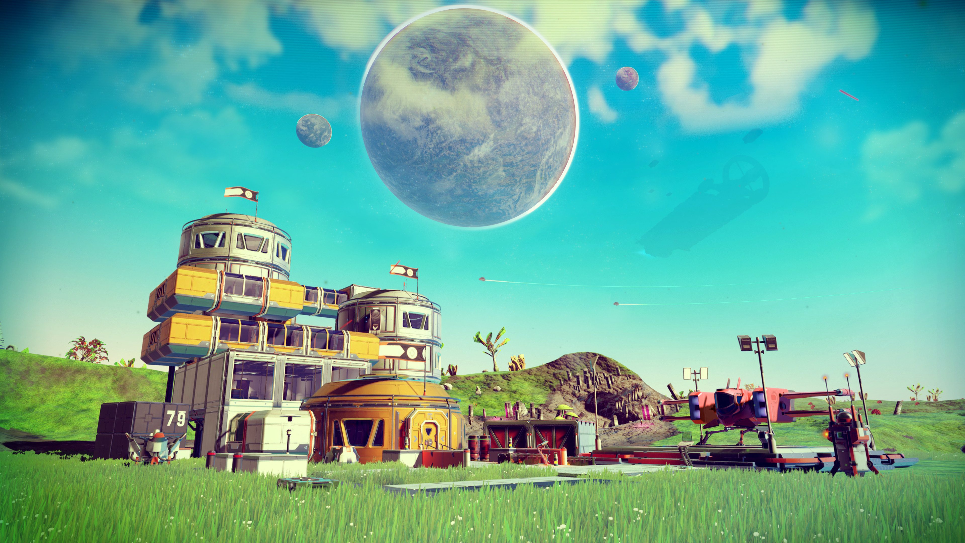 No Man's Sky's next update is imminent, adds a planetary vehicle