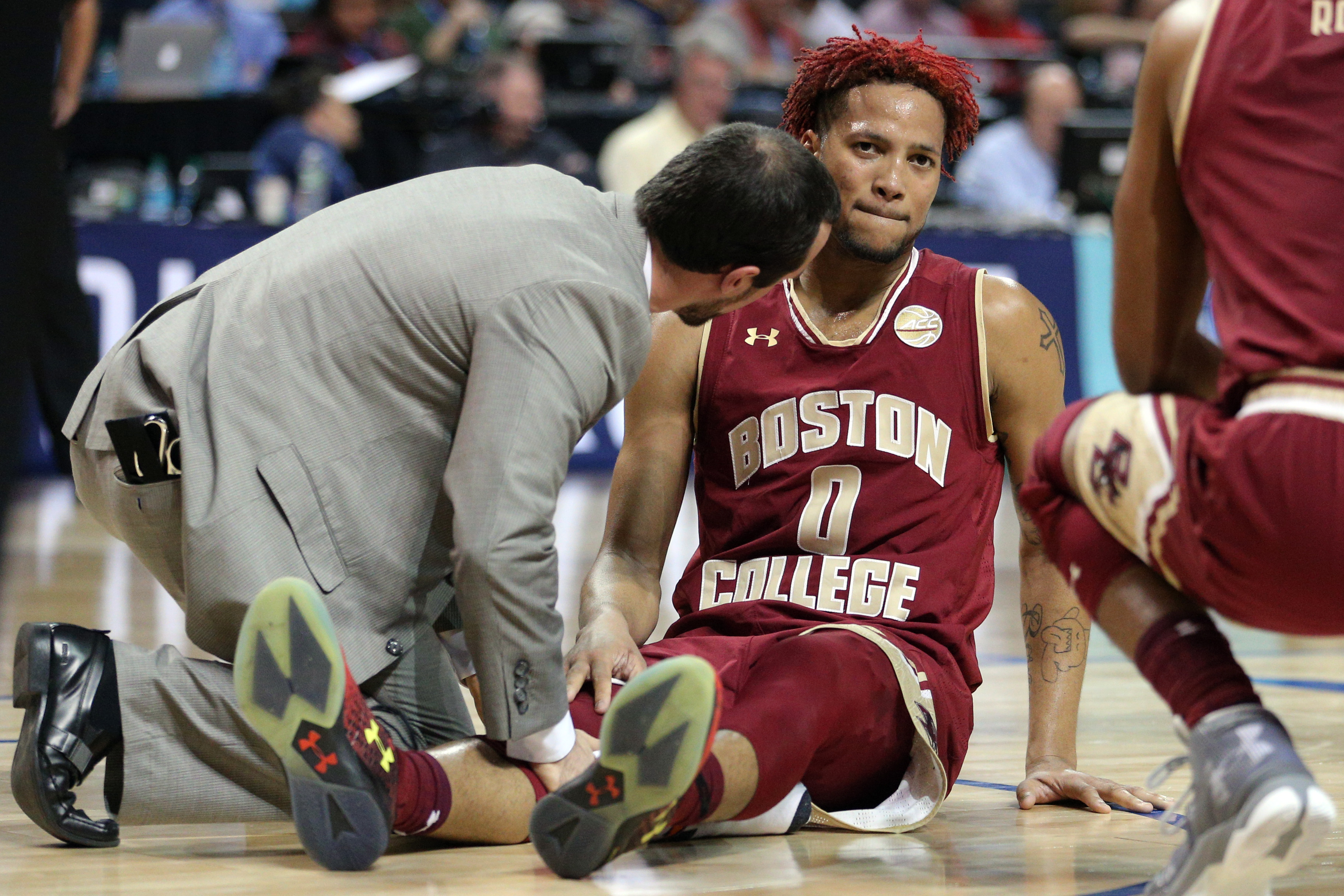 NCAA Basketball: ACC Conference Tournament-Wake Forest vs Boston College