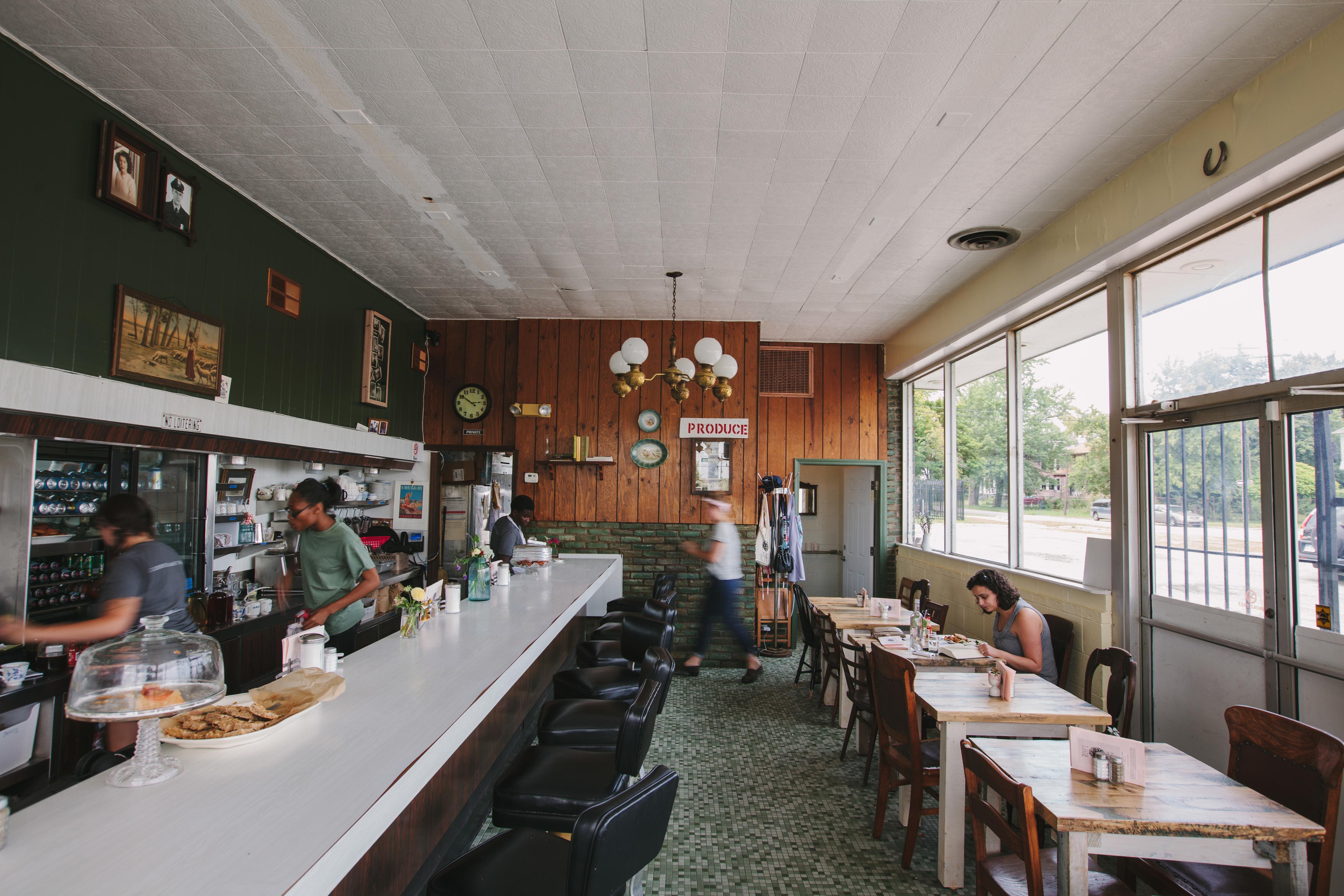 Rose's Fine Food interior