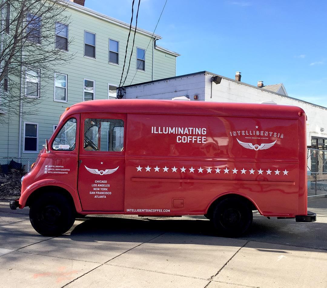Intelligentsia Coffee truck