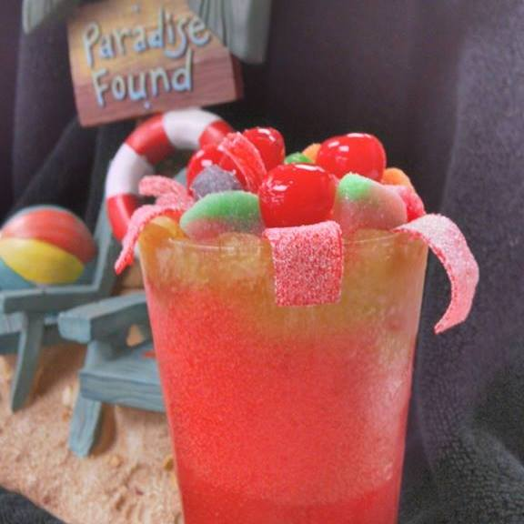Is there anything better than a frozen daiquiri topped with candy? No.