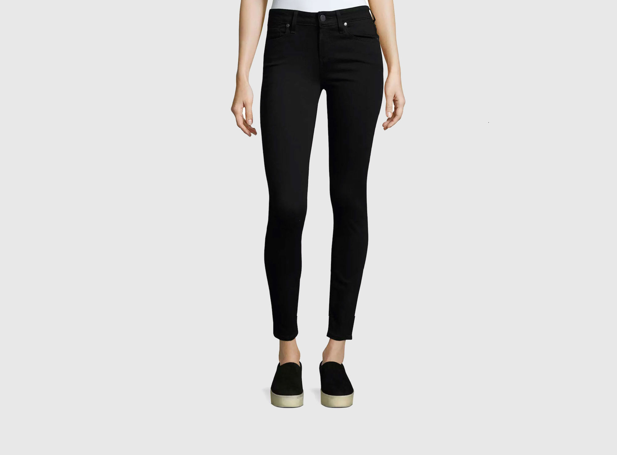 Stretchy Skinny Jeans That Actually Keep Their Shape