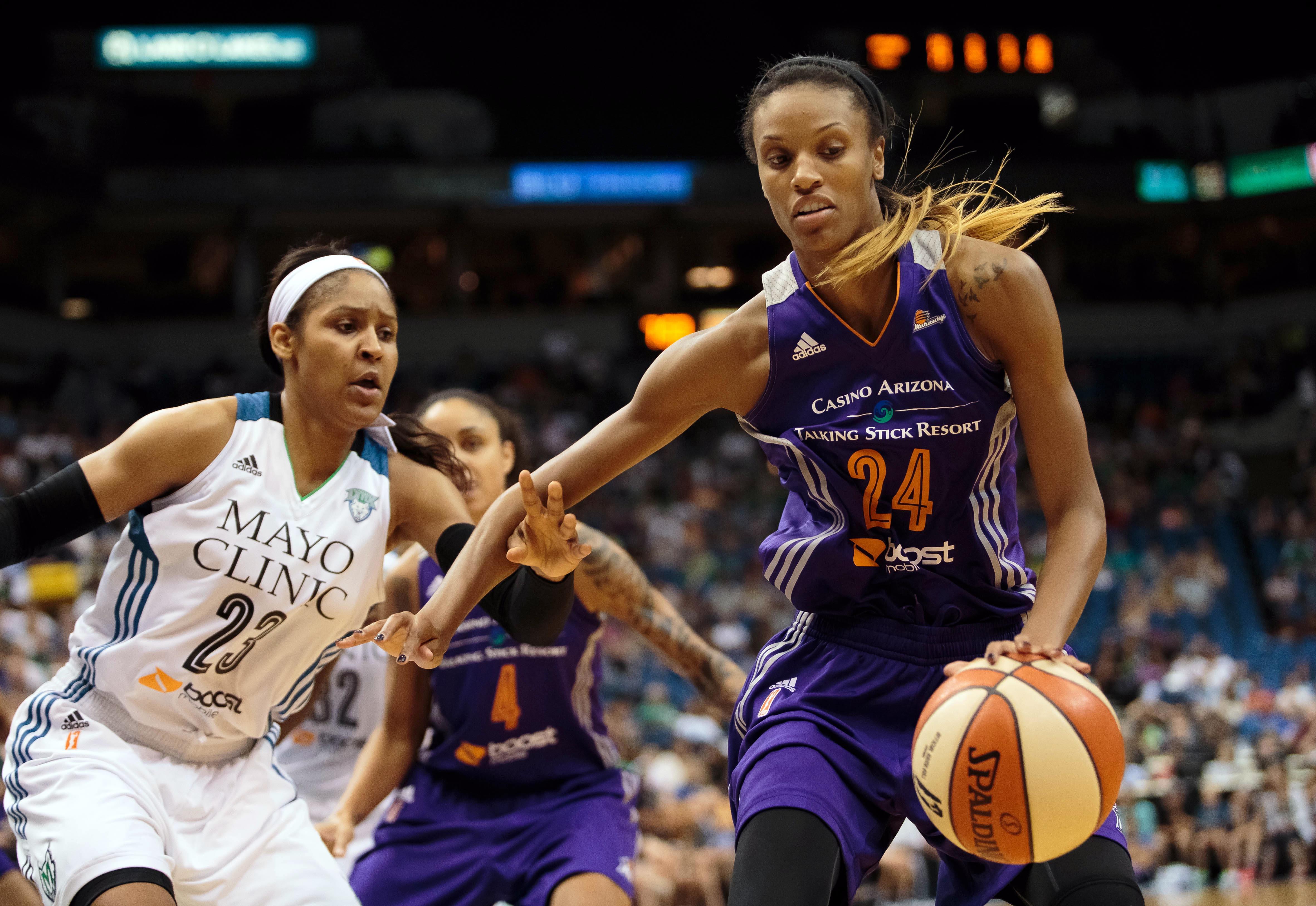 WNBA: Phoenix Mercury at Minnesota Lynx
