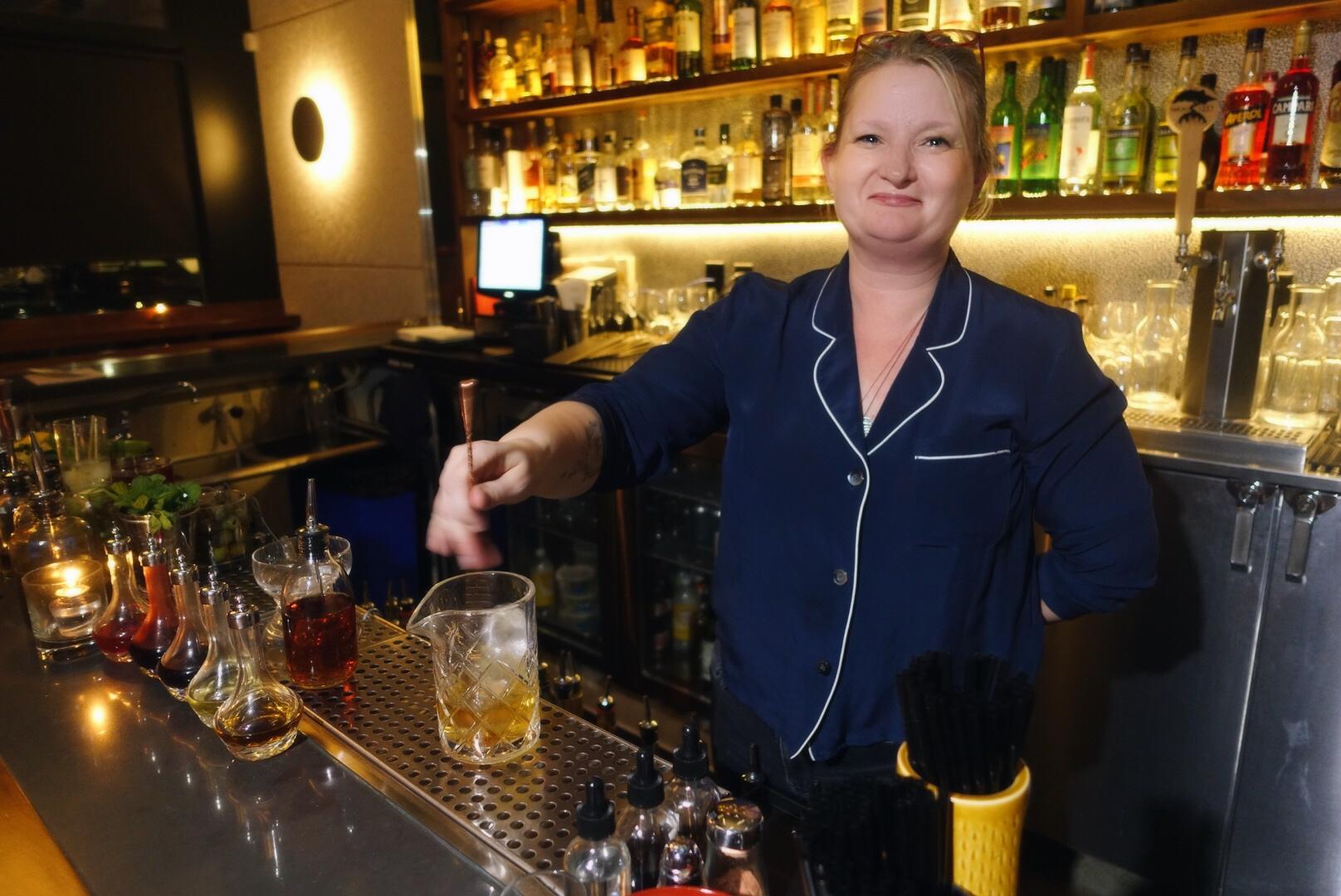 Gabriella Mlynarczyk at Accomplice Bar