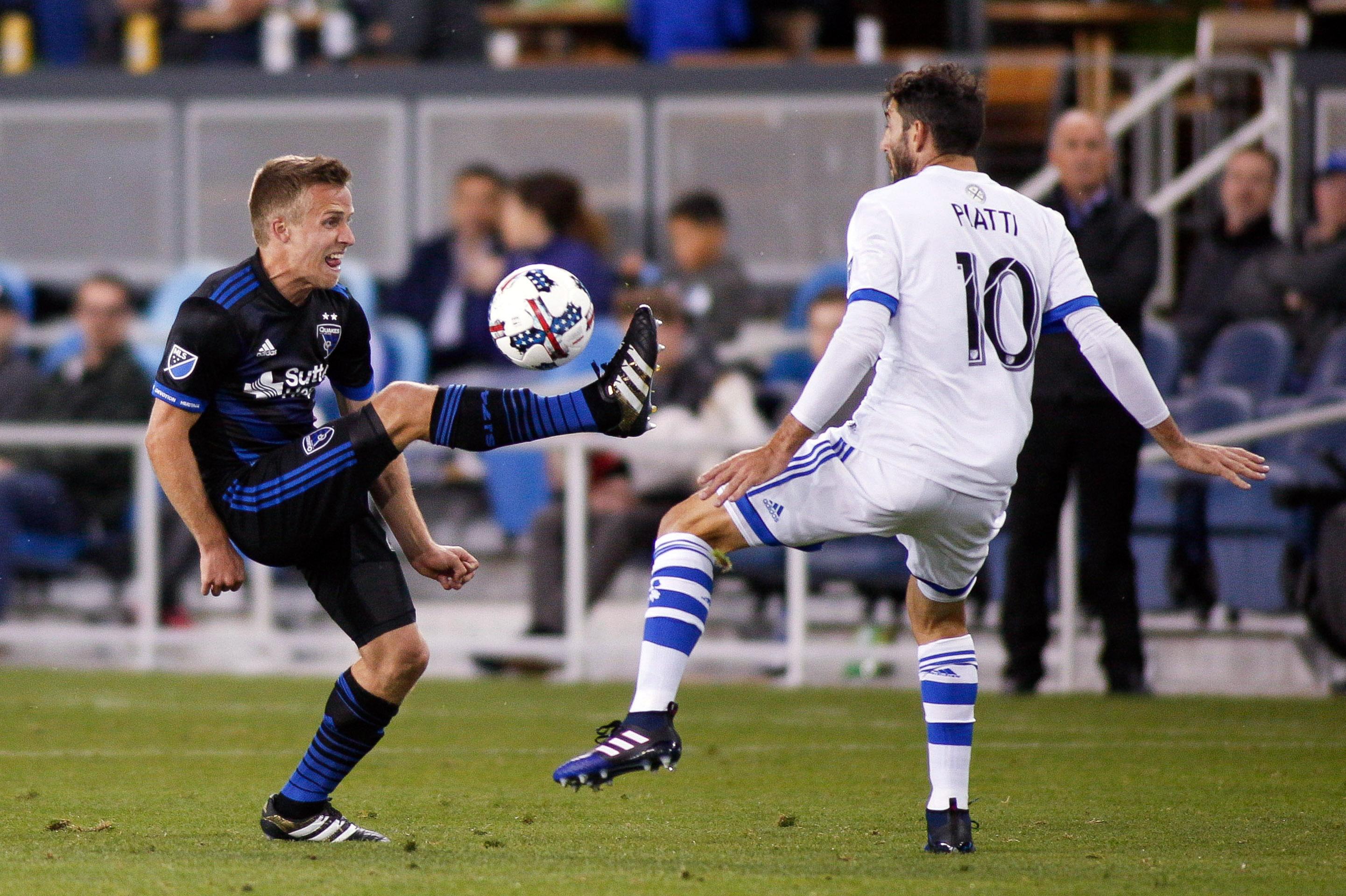 MLS: Montreal Impact at San Jose Earthquakes