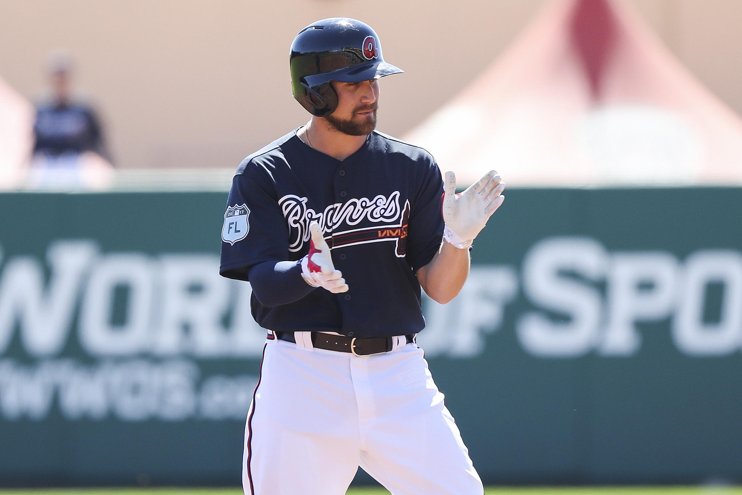 MLB: Spring Training-Houston Astros at Atlanta Braves