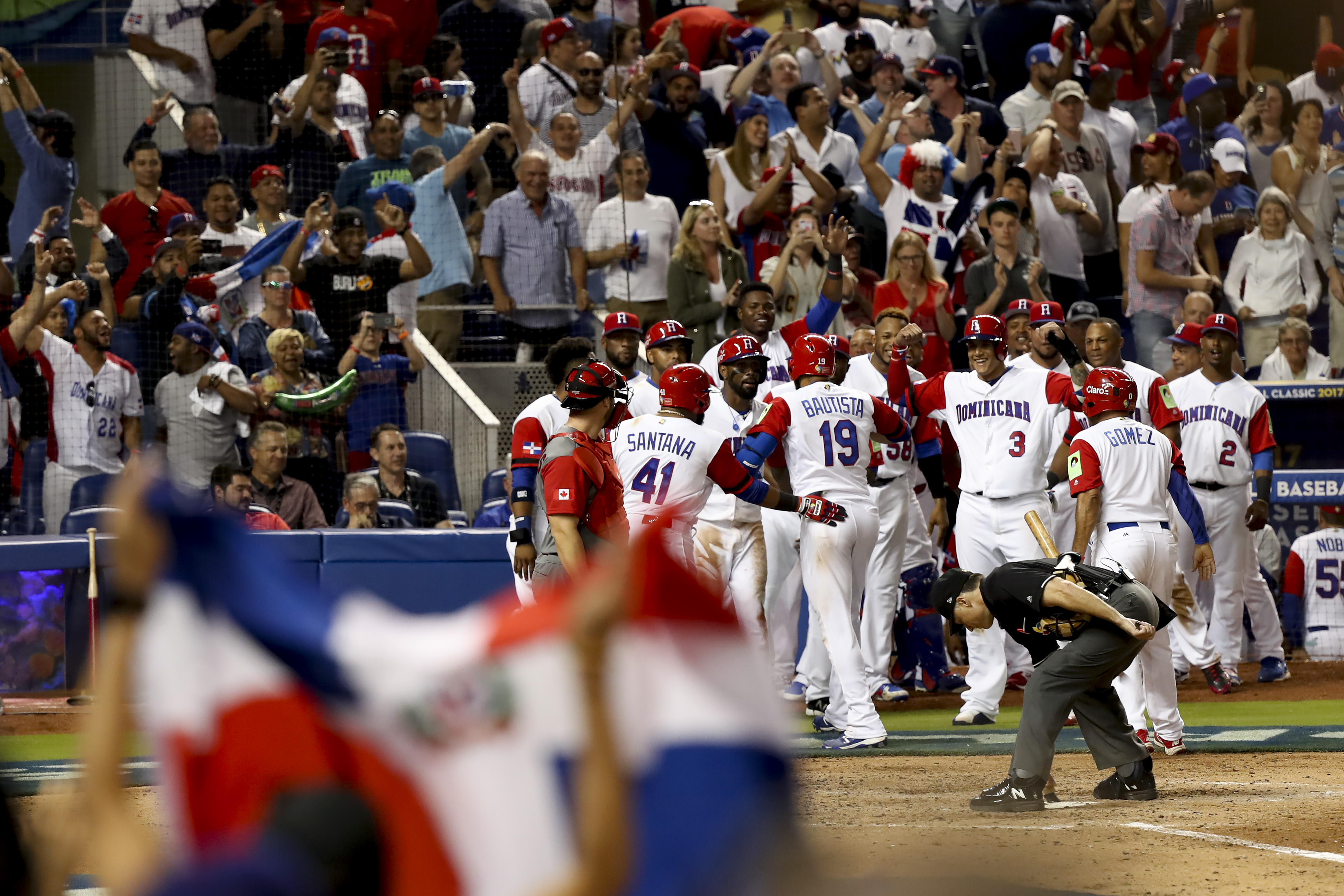 Baseball: World Baseball Classic-Canada at Dominican Republic