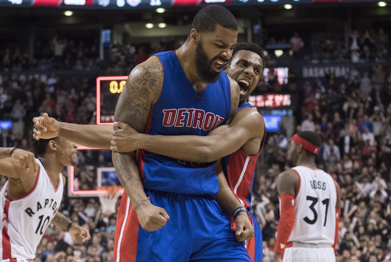 b9fa128d NBA: Detroit Pistons at Toronto Raptors