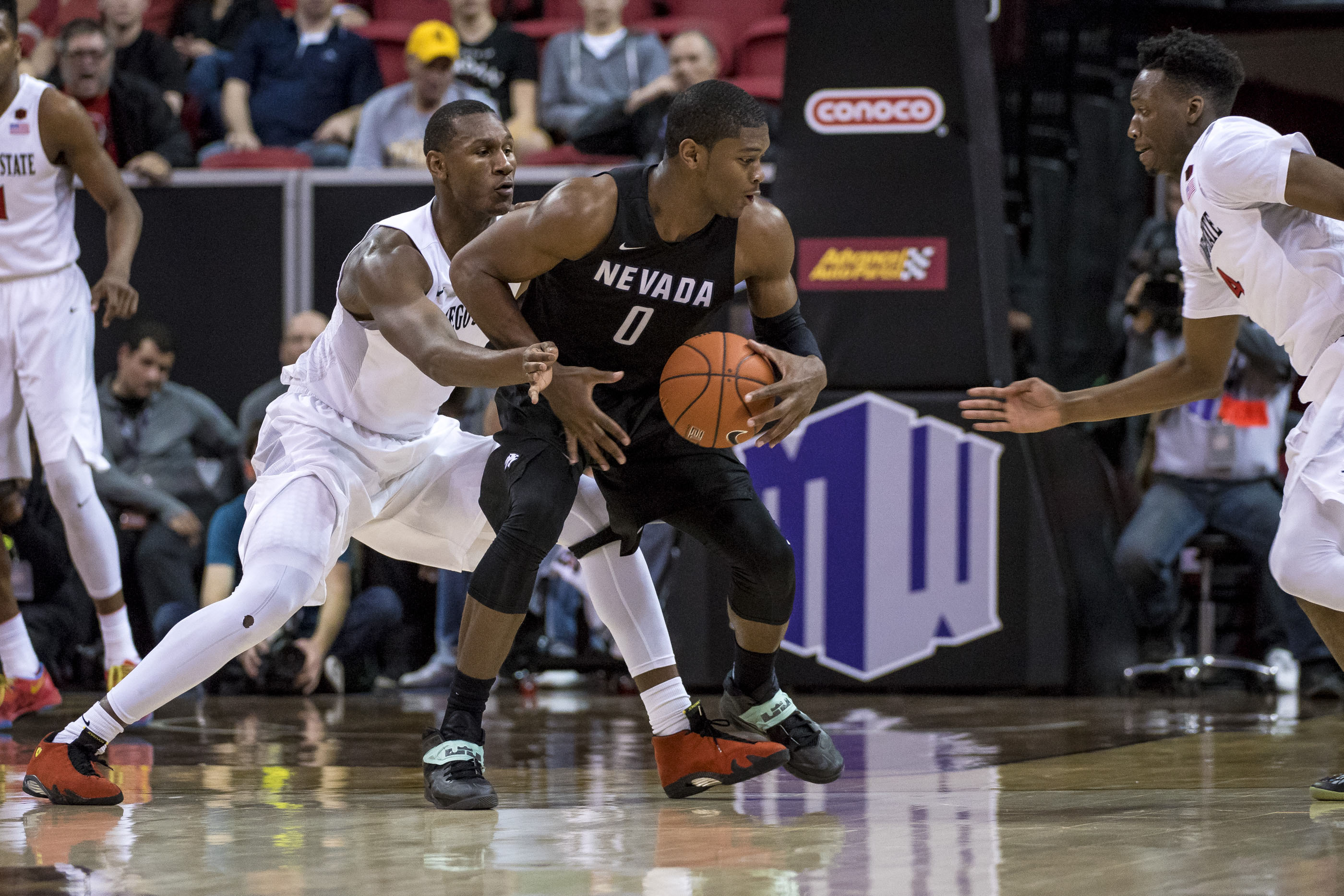 NCAA Basketball: Mountain West Conference Tournament-San Diego State vs Nevada