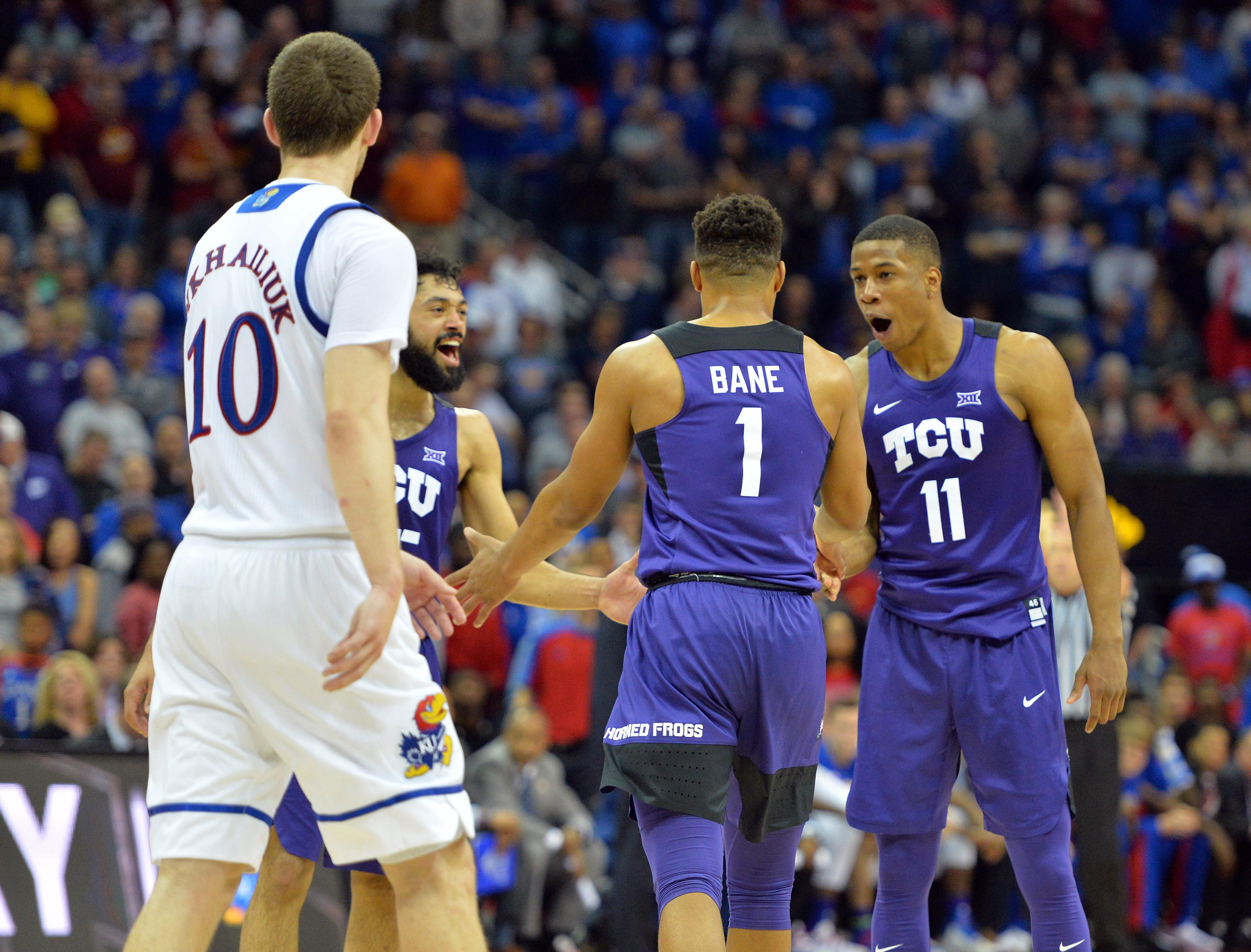 NCAA Basketball: Big 12 Championship-Kansas vs TCU