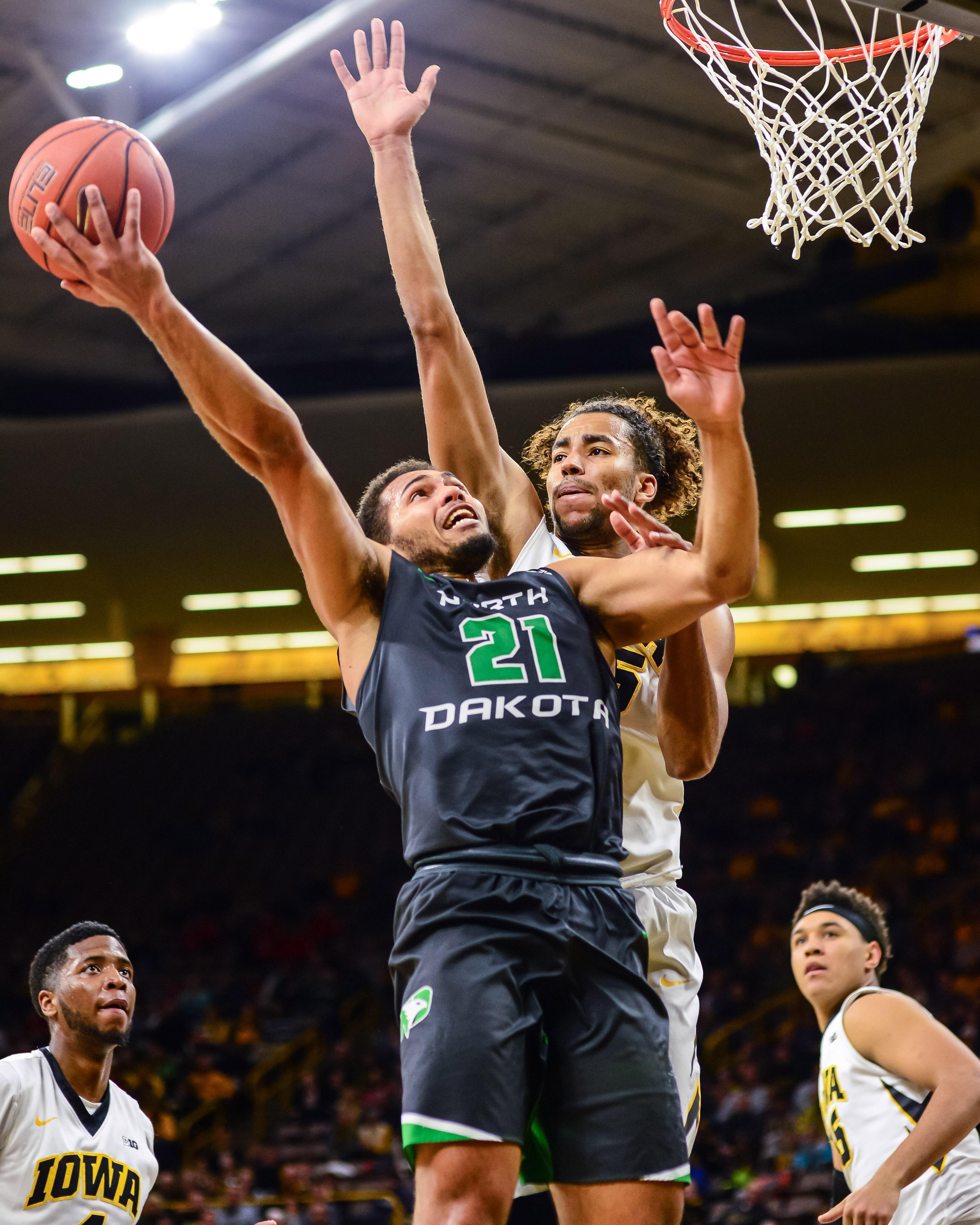 NCAA Basketball: North Dakota at Iowa