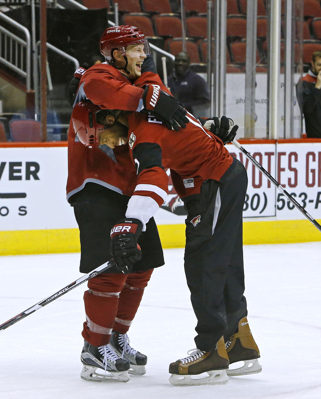 NHL: Fitzgerald Coyotes