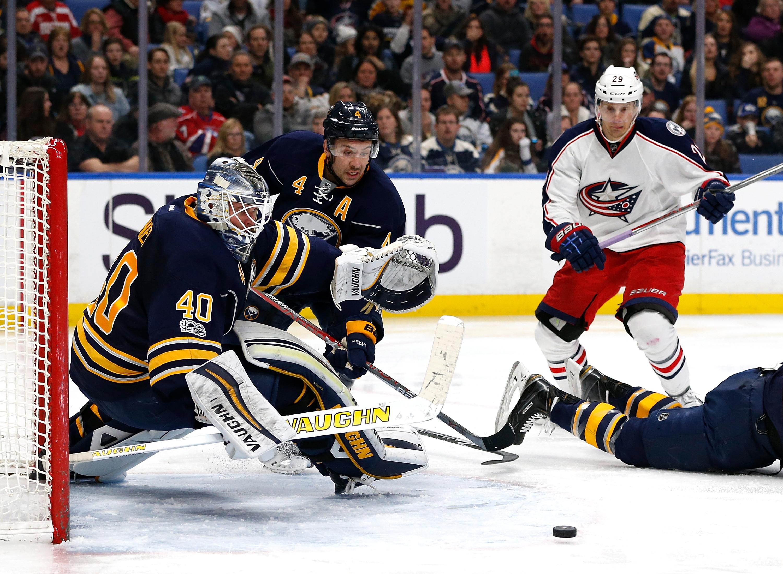 NHL: Columbus Blue Jackets at Buffalo Sabres