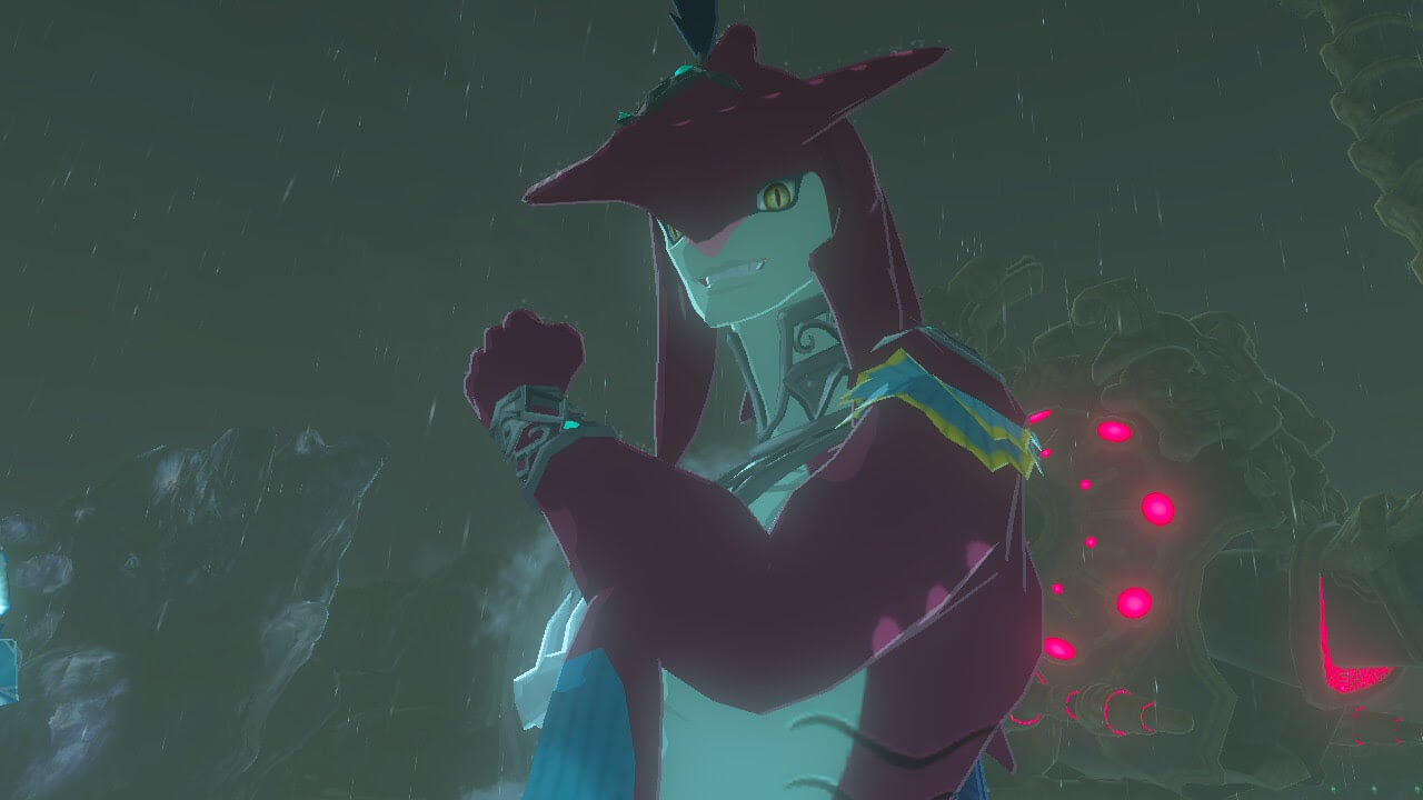 In Breath of the Wild, everyone just wants to kiss a Zora
