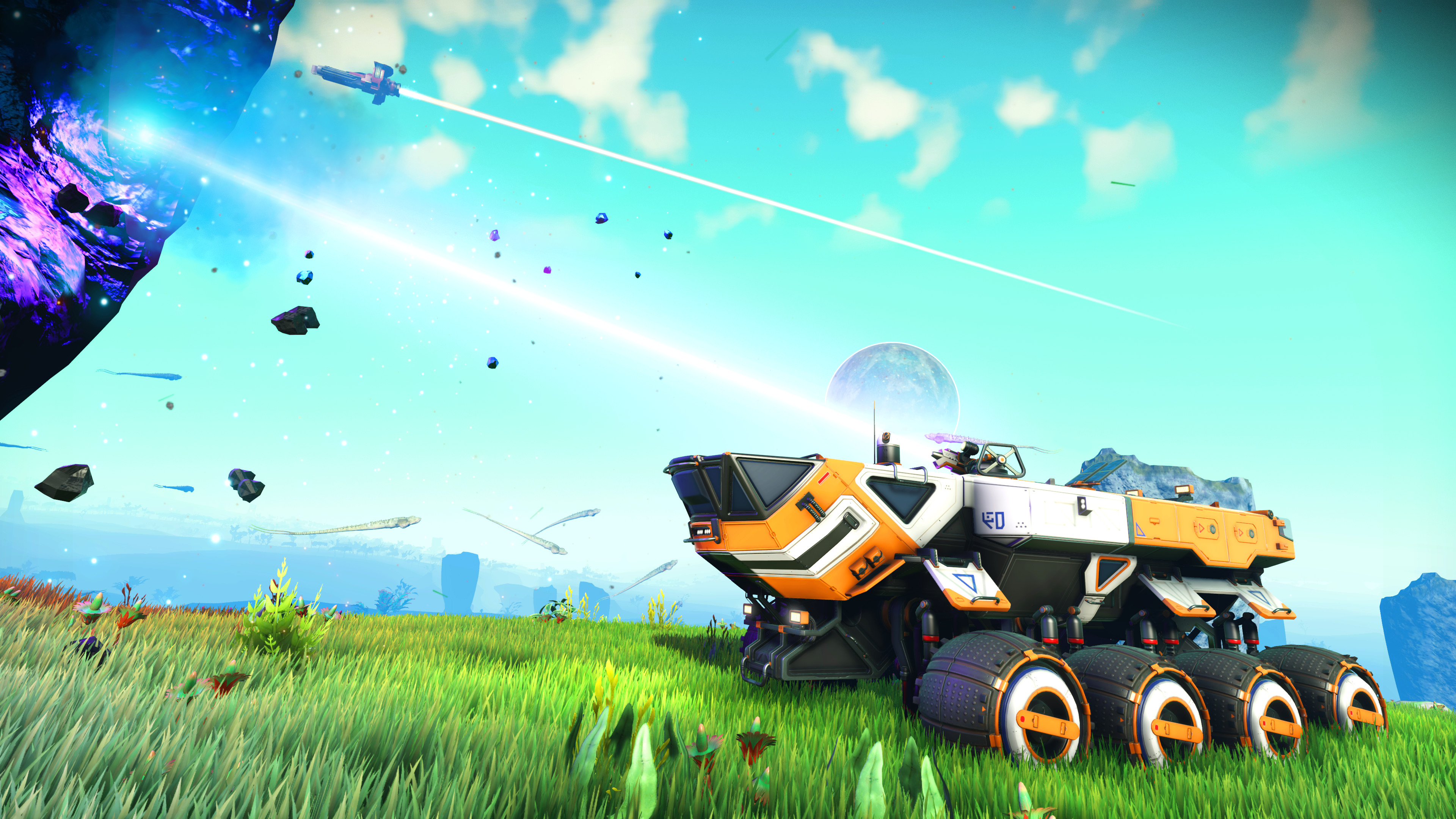 No Man's Sky update lets you drive around any planet