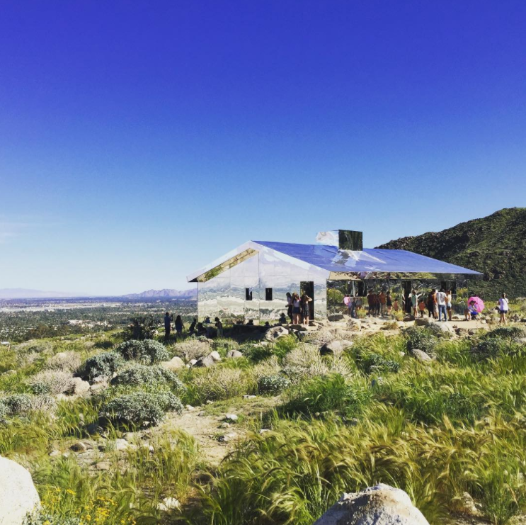 16 lustrous photos of coachella valleys trippy outdoor art festival desert x